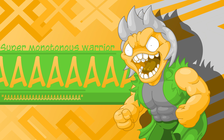 AAAAAAAAAAAAAA, the Super Monotonous Warrior