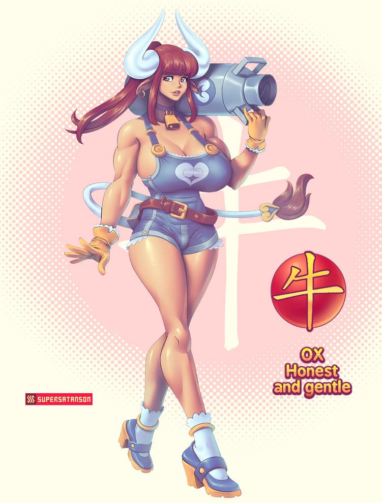 Chinese Zodiac: Ox by supersatanson on Newgrounds
