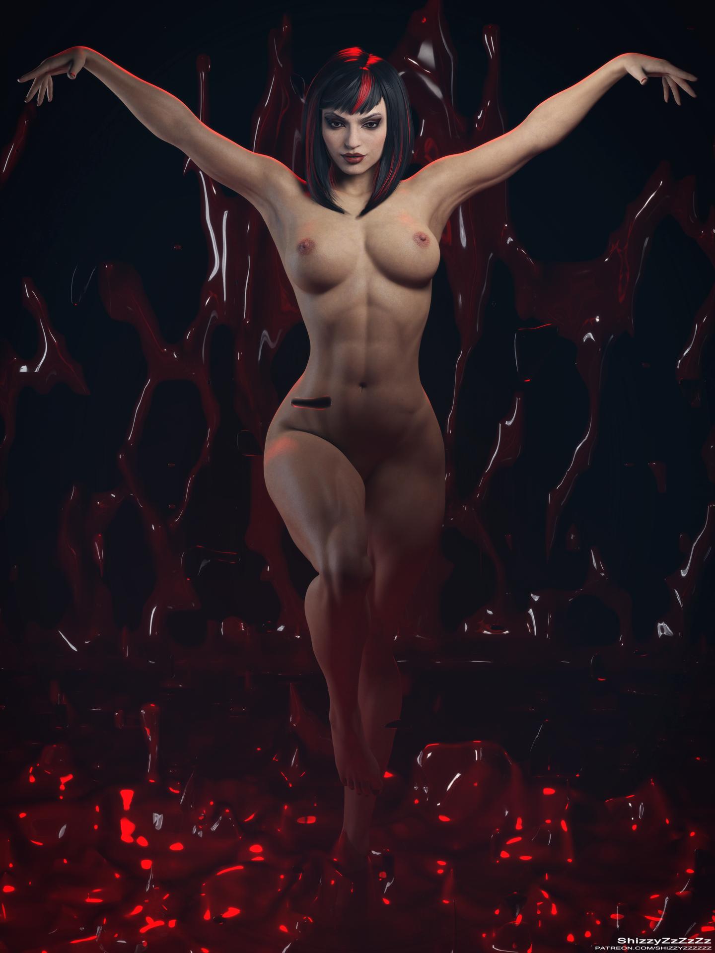 Skarlet naked