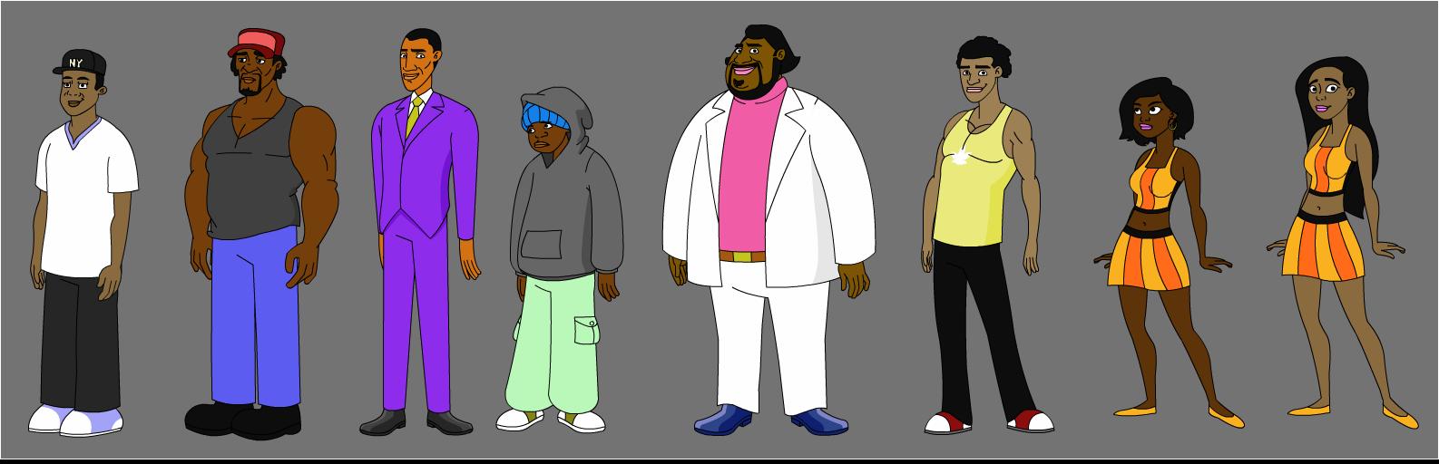 The Boros Character Models
