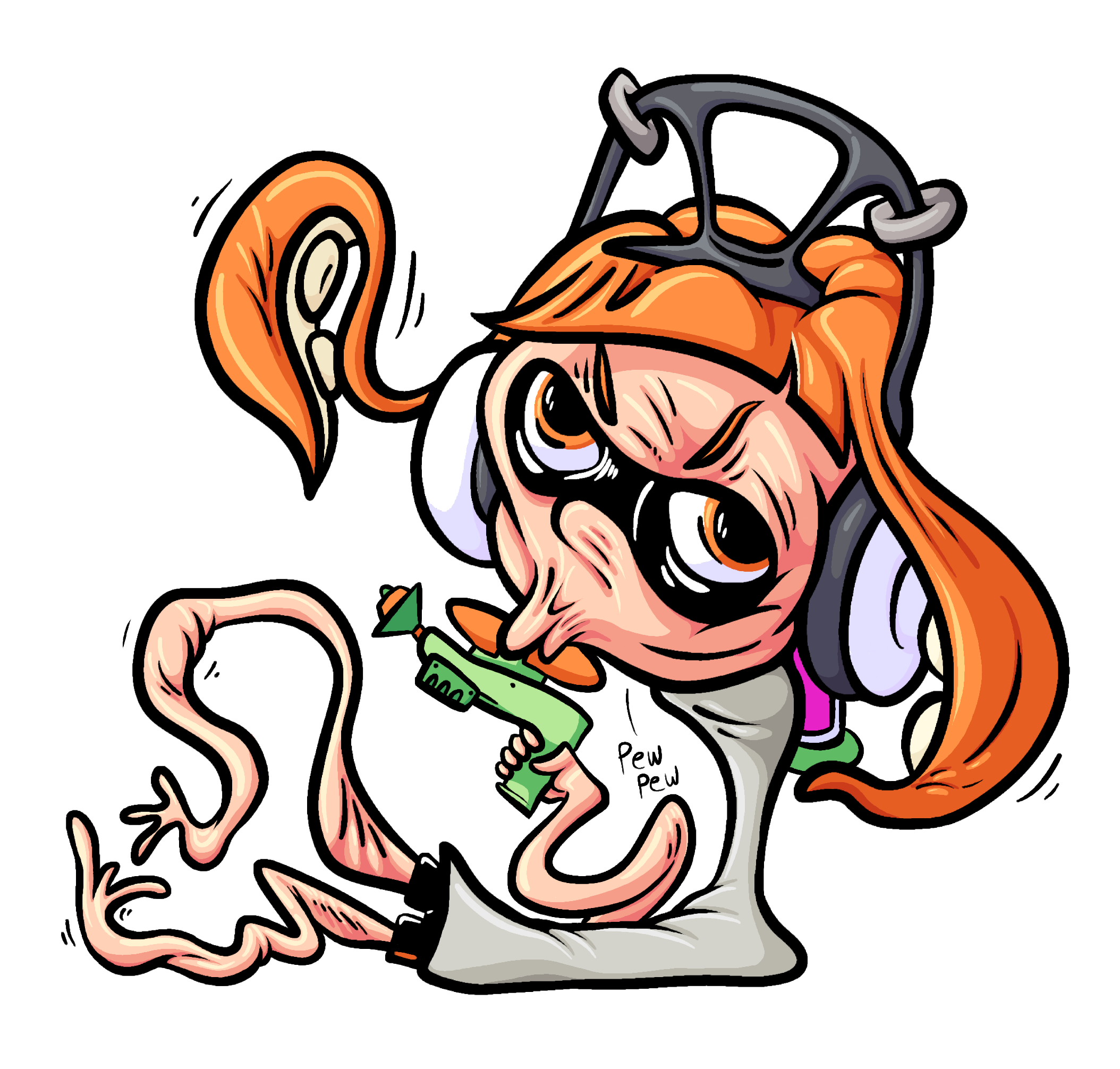 You're a kid you're a squid
