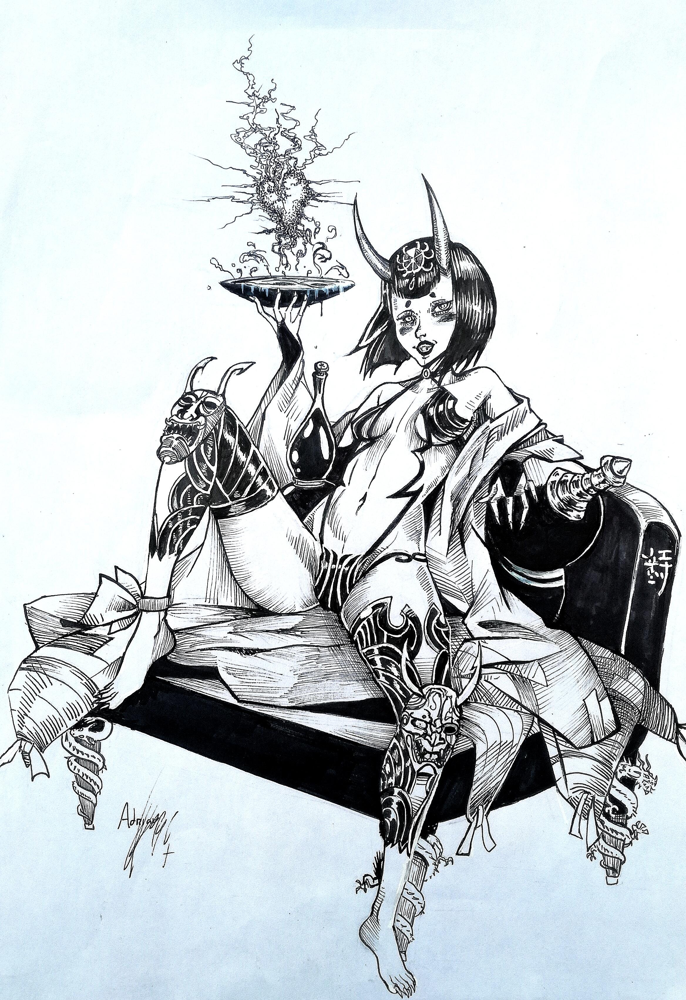 Kenzo Gosho Demon