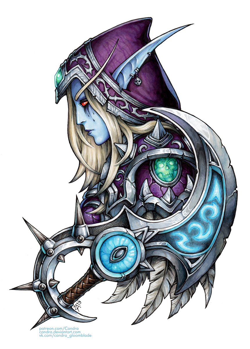 Sylvanas and Xal'atath