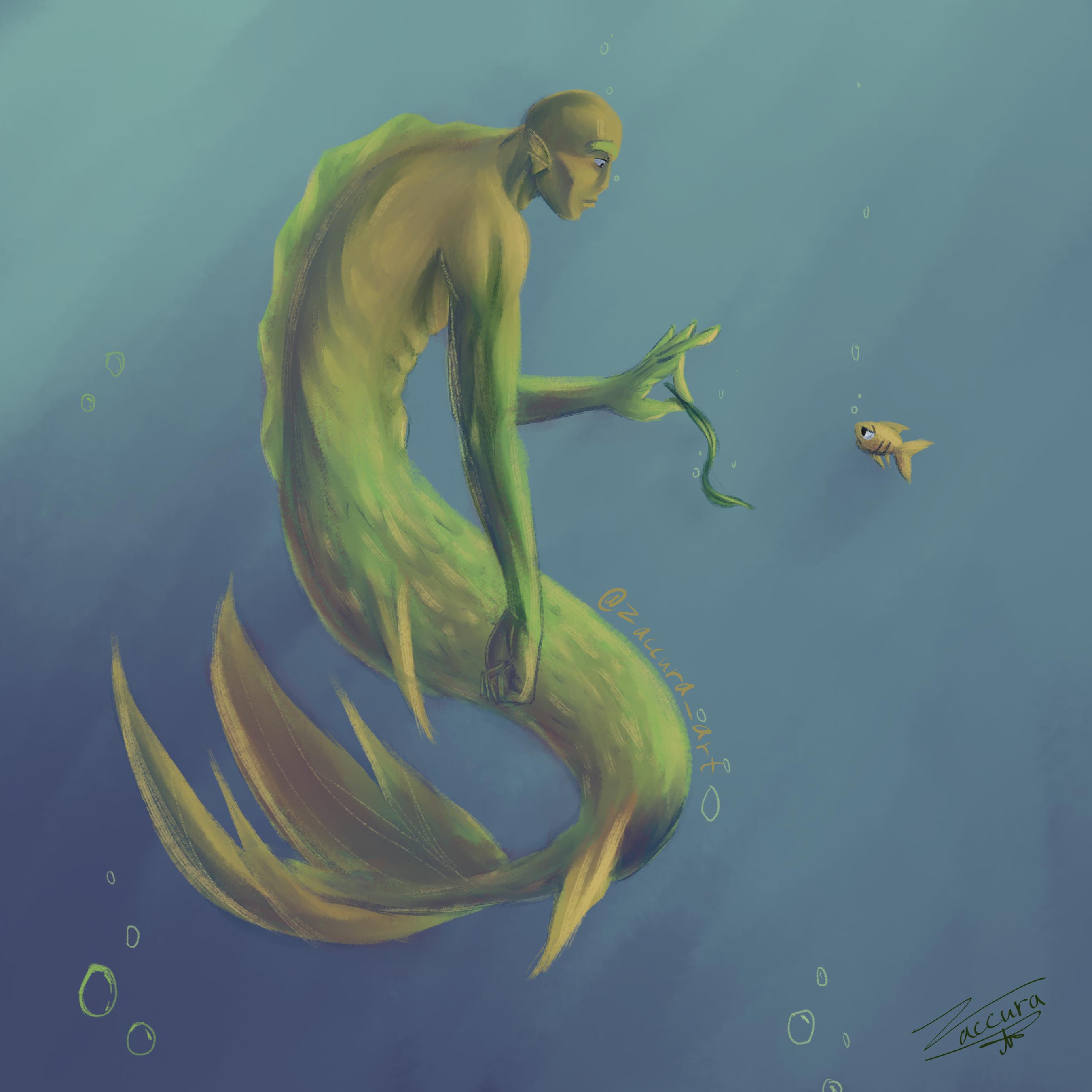 Here fishy fishy | Mermay day 24