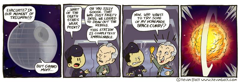 Star Wars Funnies: Tarkin