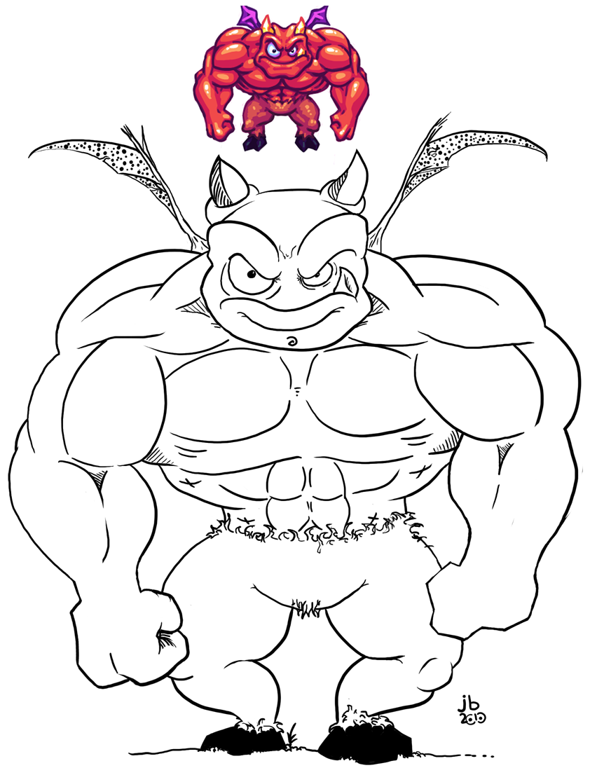 Rufus Da Demon Redux