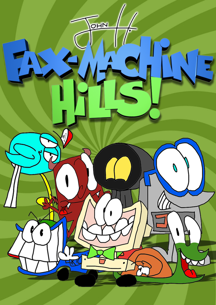 Fax-Machine Hills - Poster