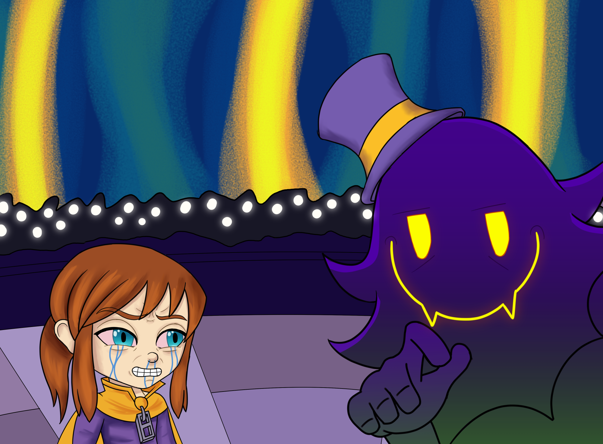 Hat Kid - Please give me back my hat.