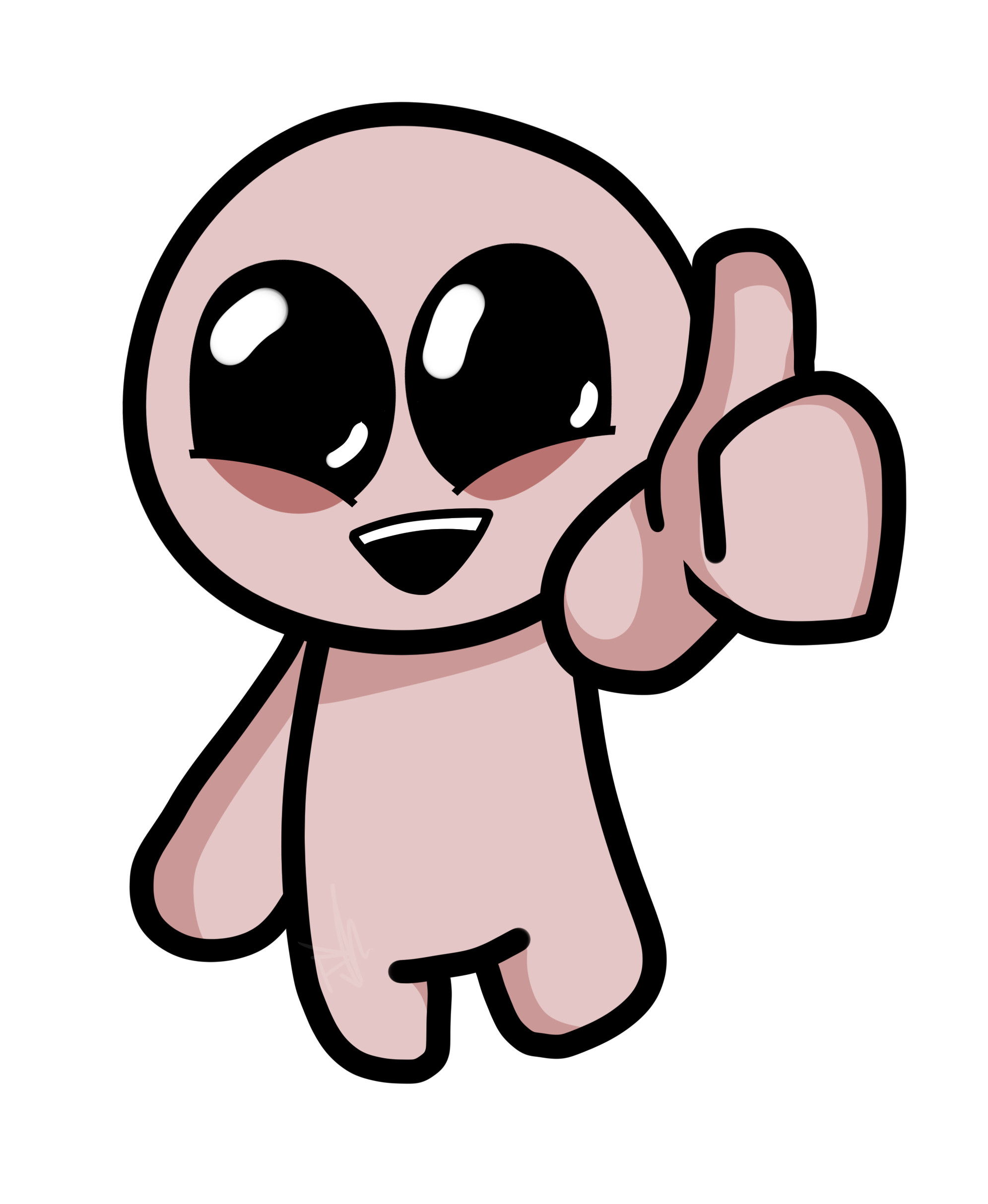 Isaac Giving Thumbs Up By TVisDaddy On Newgrounds