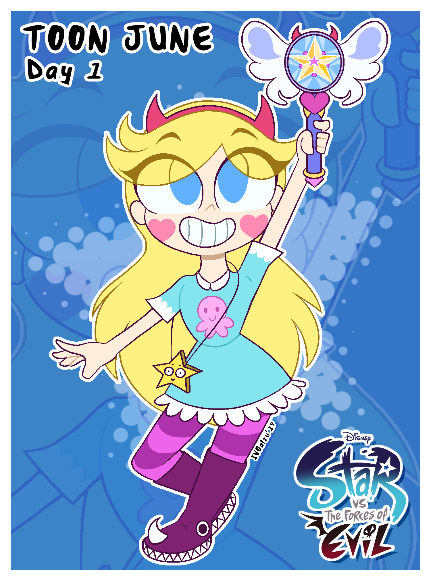 Toon June - Star Butterfly