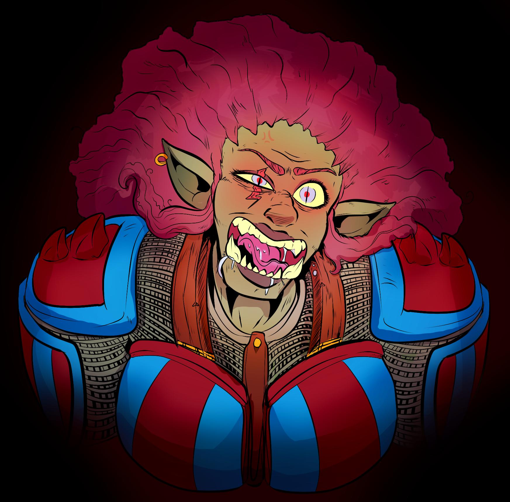 Angry Ekuni