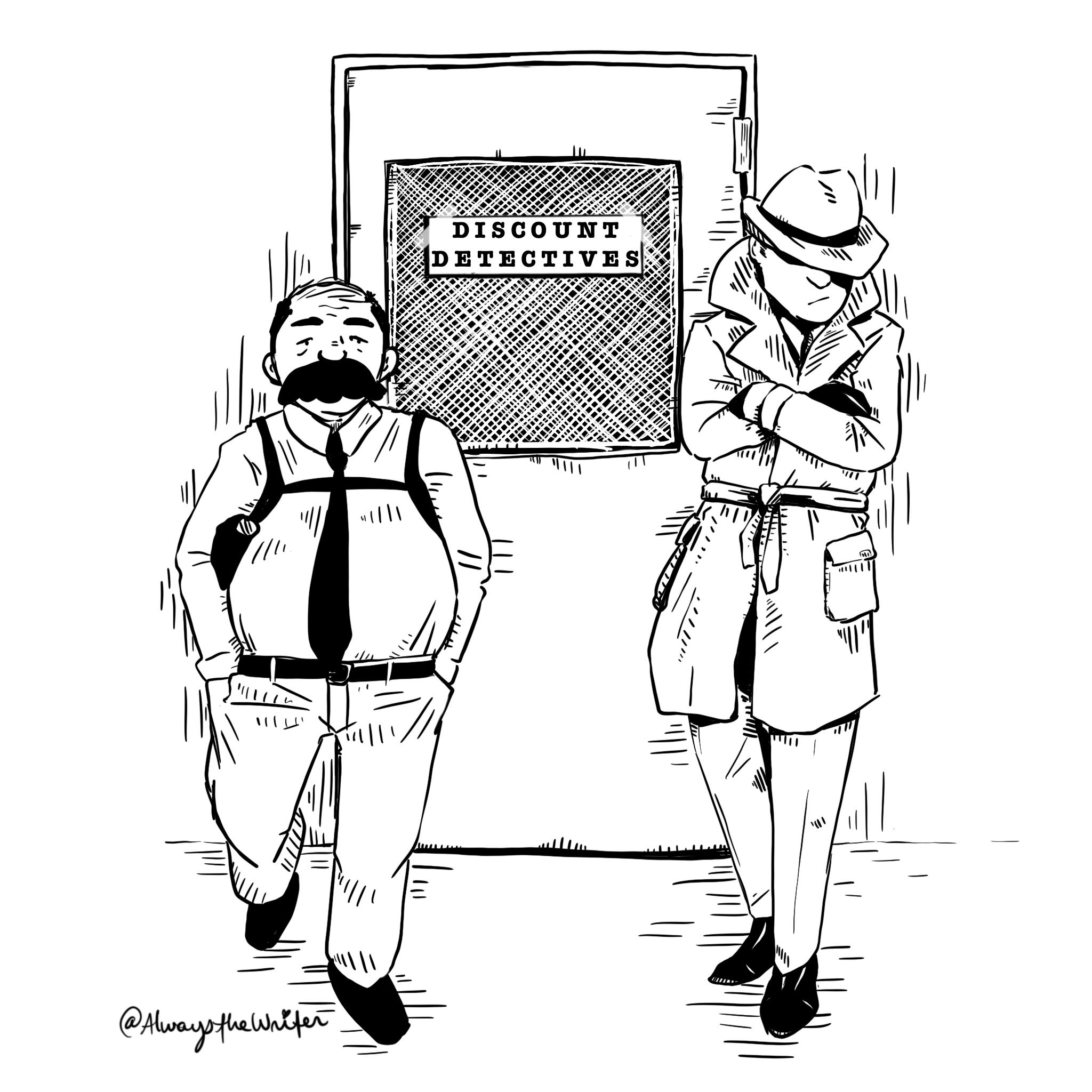 Discount Detectives concept