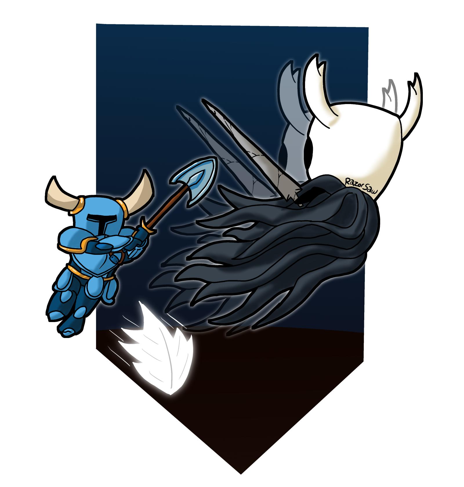 Shovel Knight vs Hollow Knight