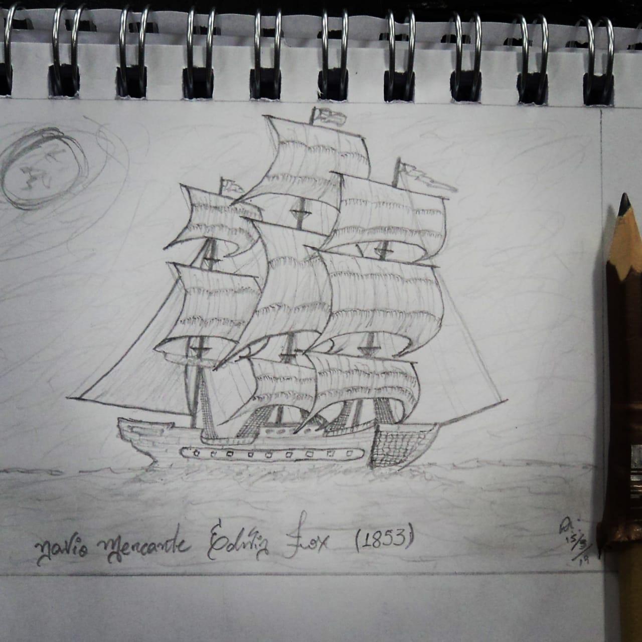 Edwin Fox, merchant vessel