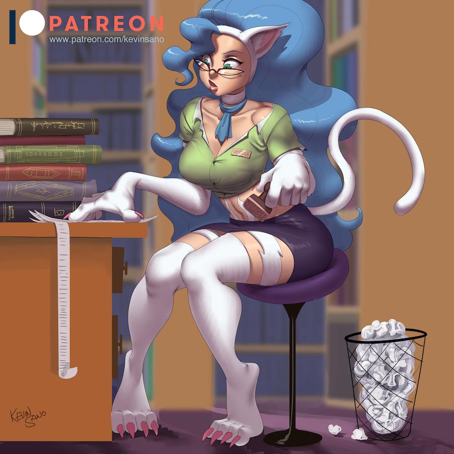Librarian Felicia