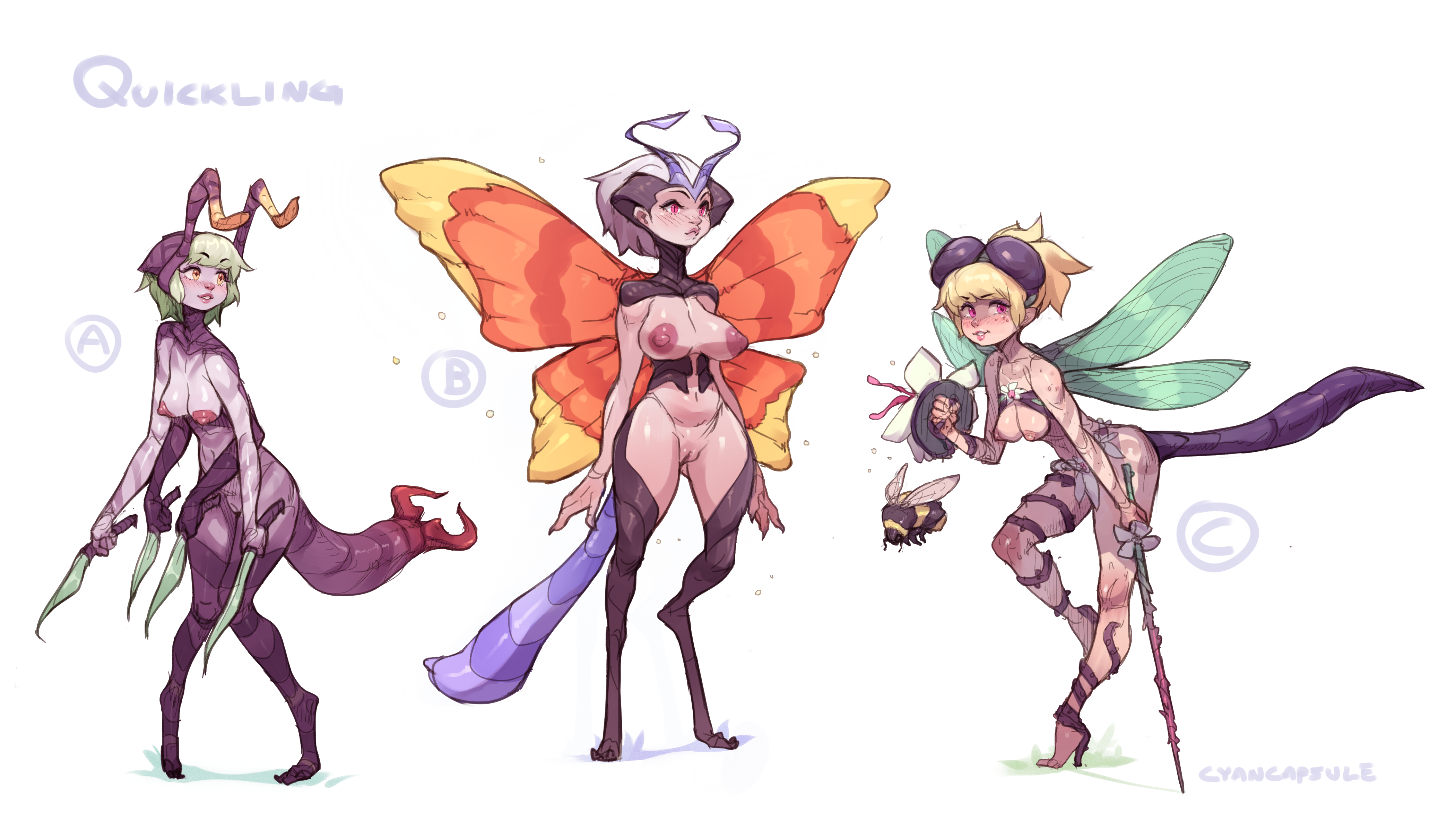 Quickling/ Bug Lady Concepts