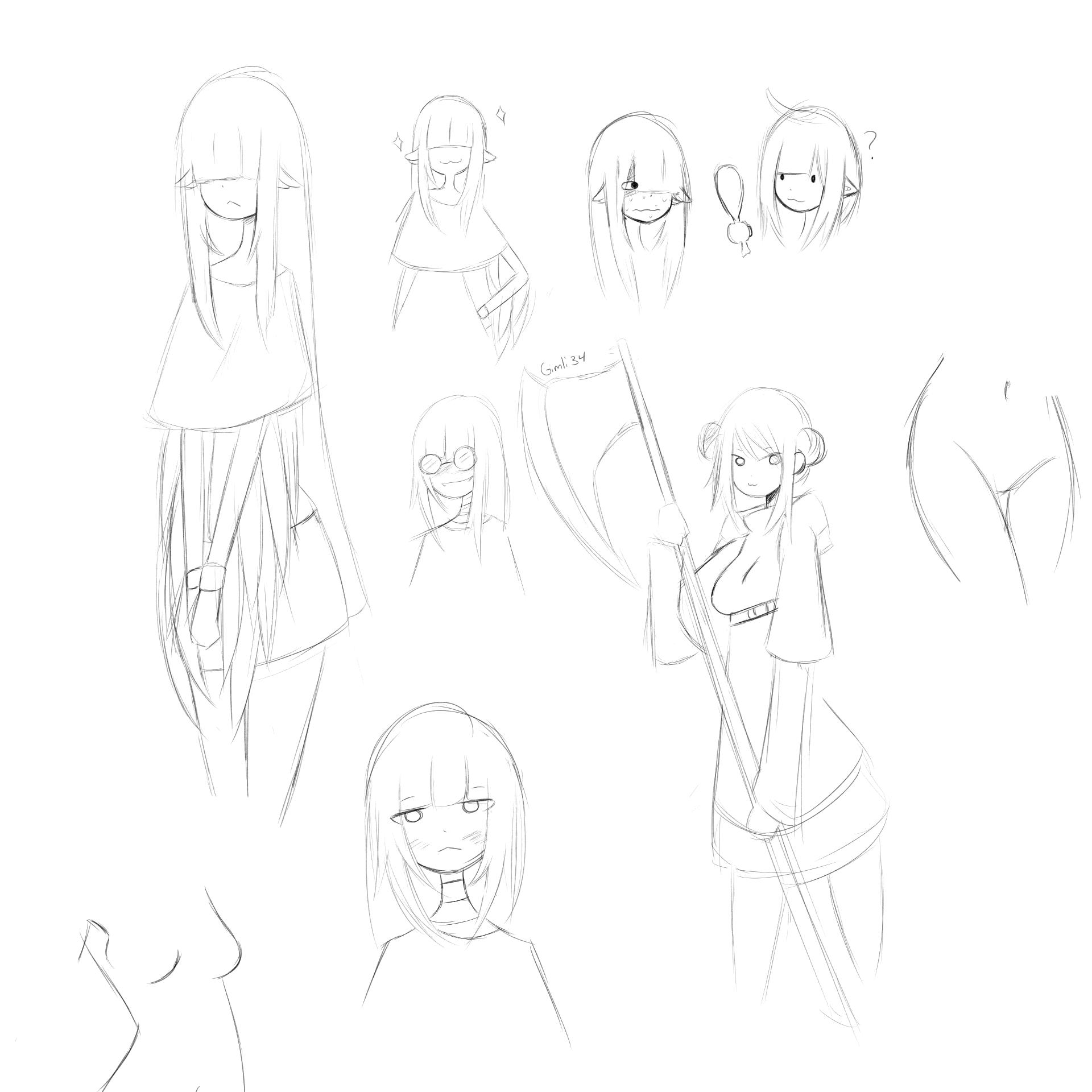 Random sketches 2 - Crippling insomnia