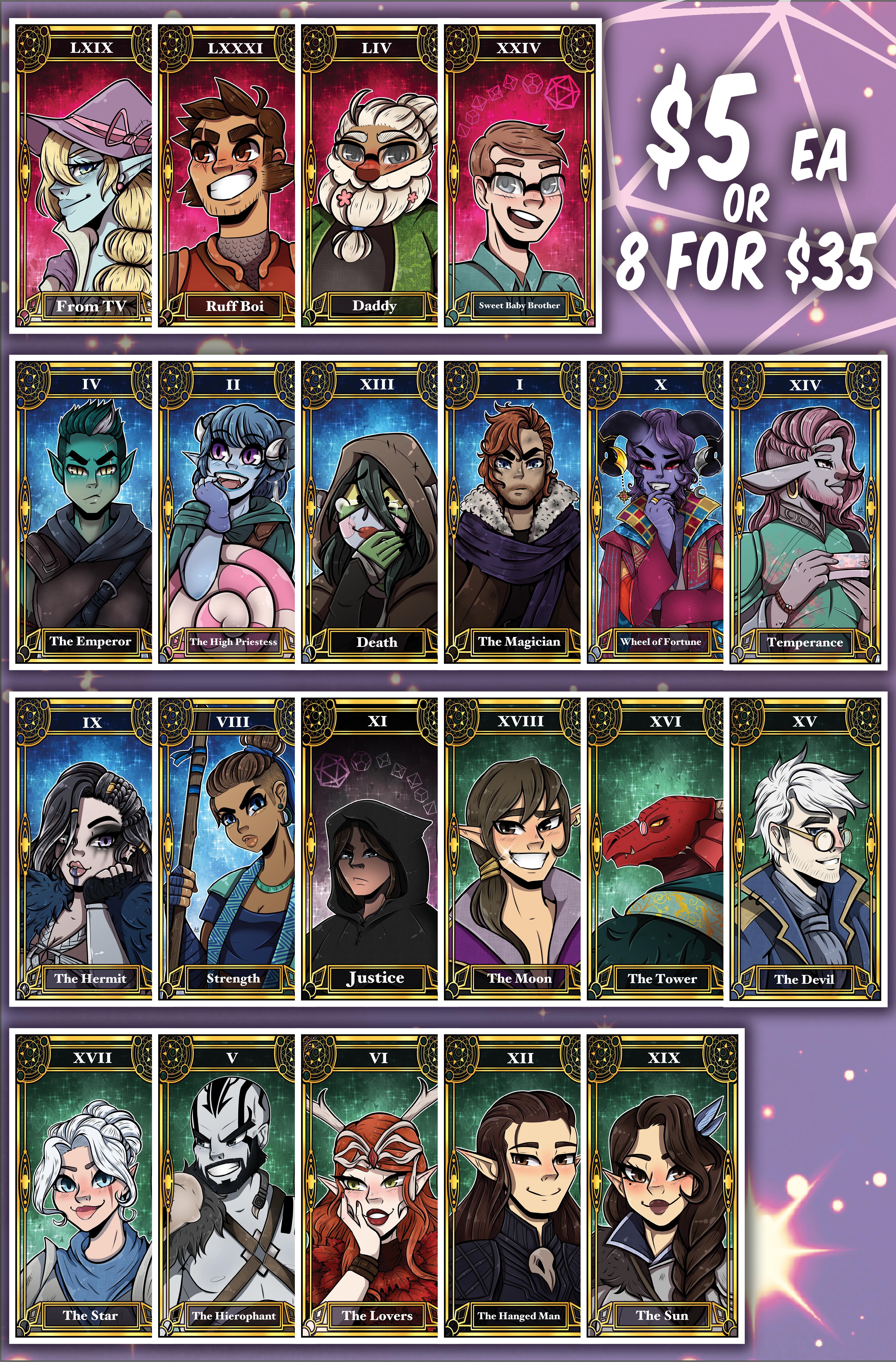 DND Tarot Cards