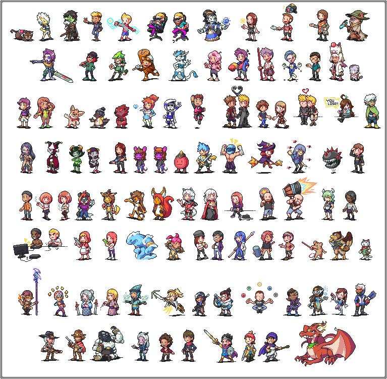 Huge ass commission compilation