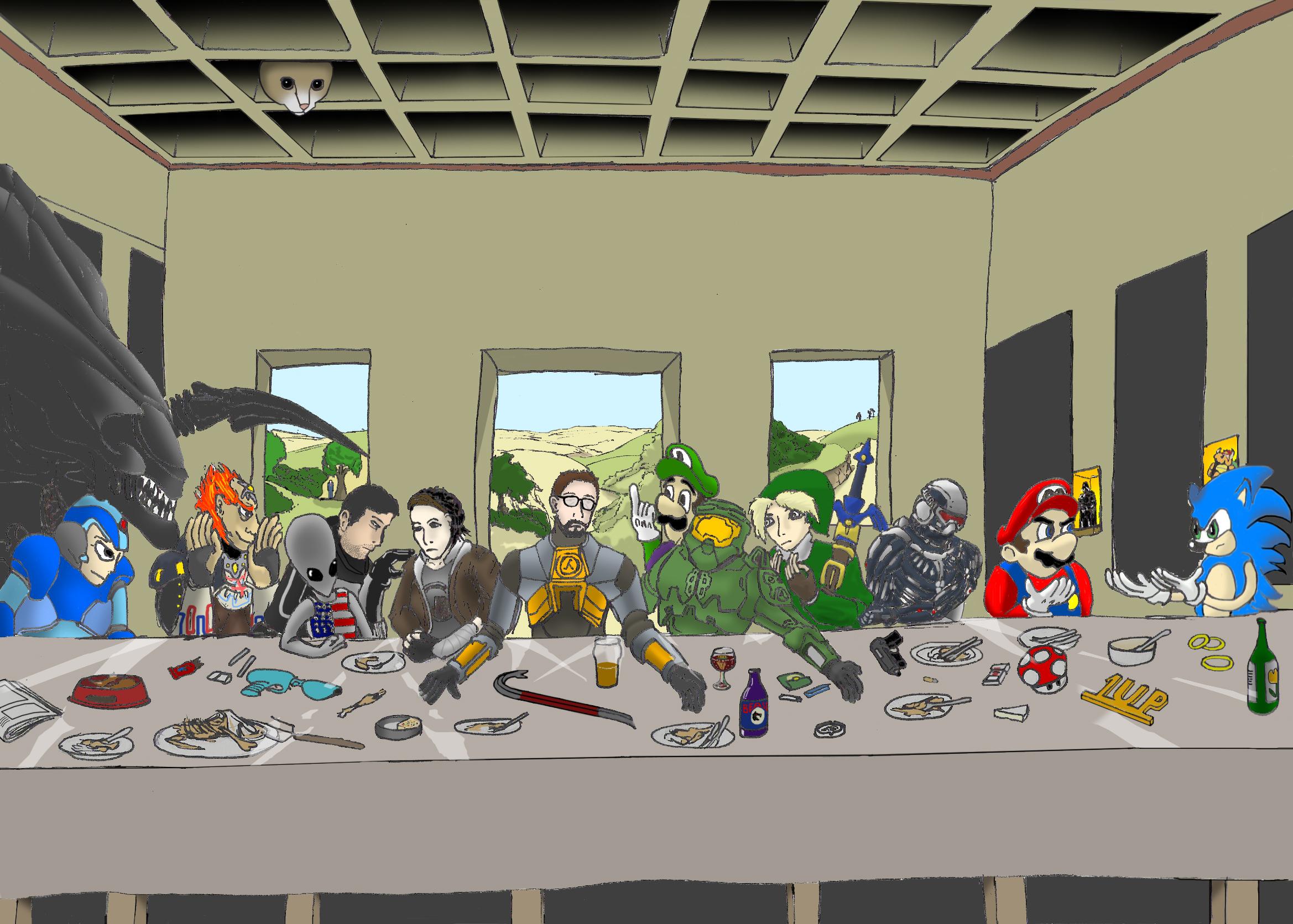 The Freeman's last supper