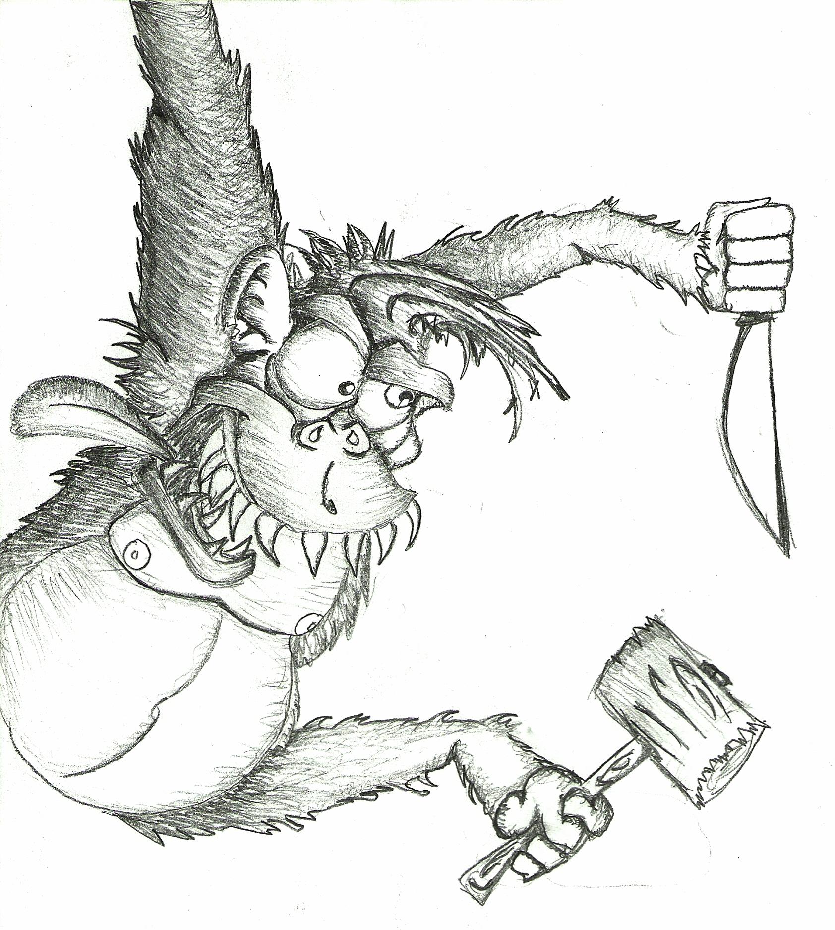 Killer Orangutan