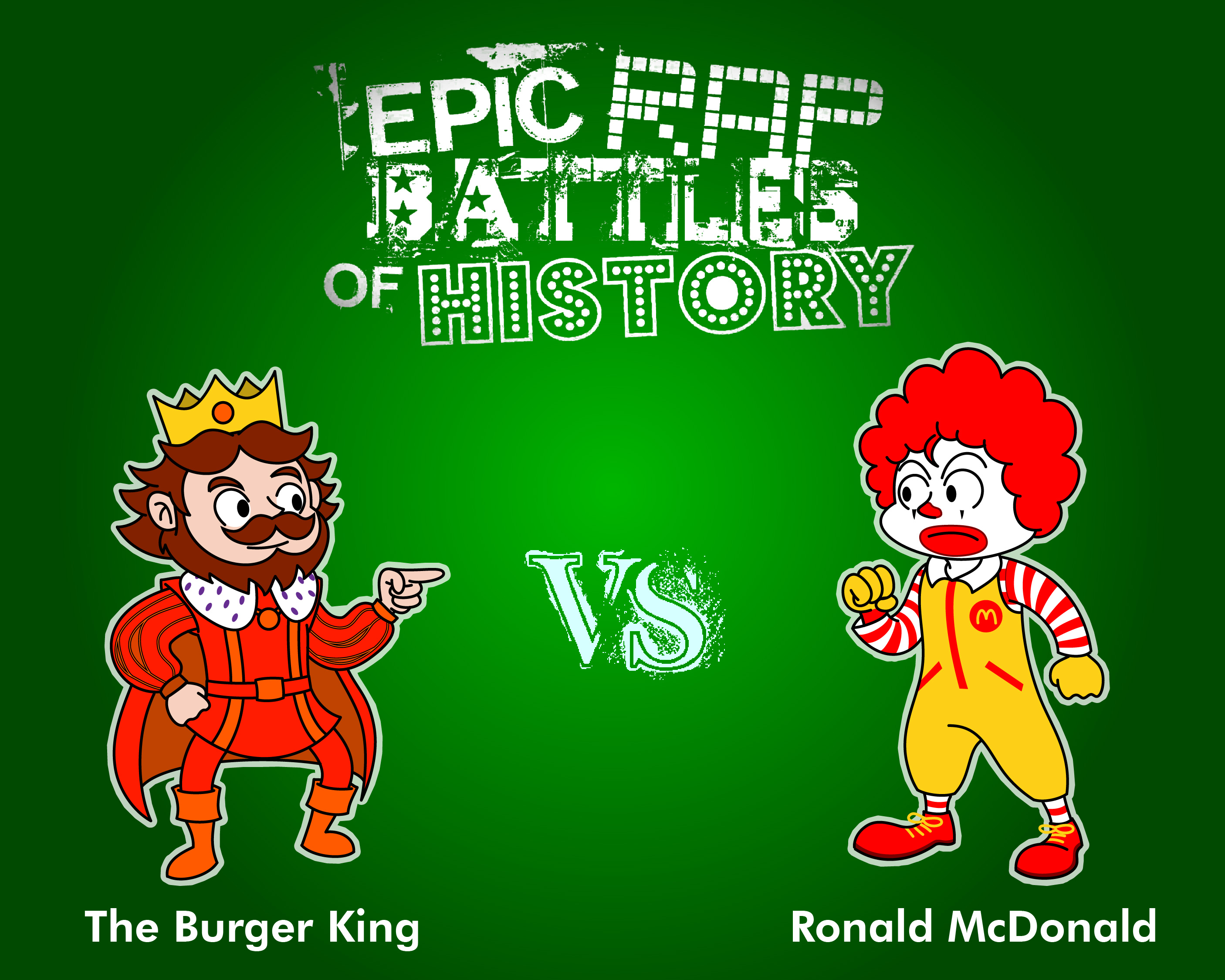 Ronald McDonald vs The Burger King by Sneakers on Newgrounds