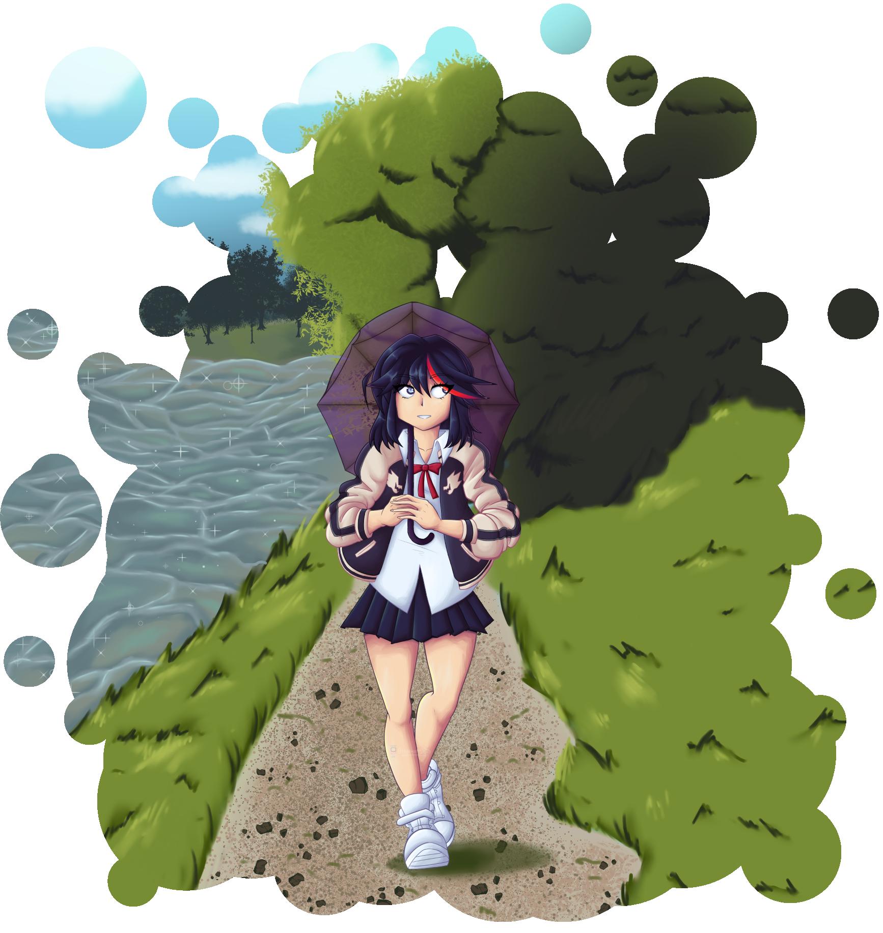 Waifu Wars Ryuko Matoi By 0ttermatic On Newgrounds