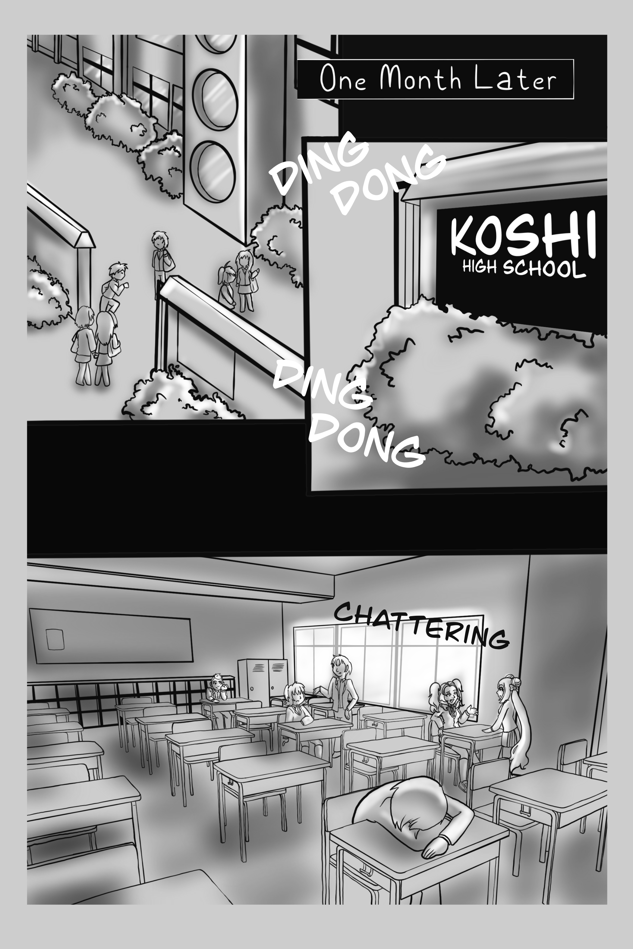{Crystal Wings} Vol. 1 Chapter 1 Page 4