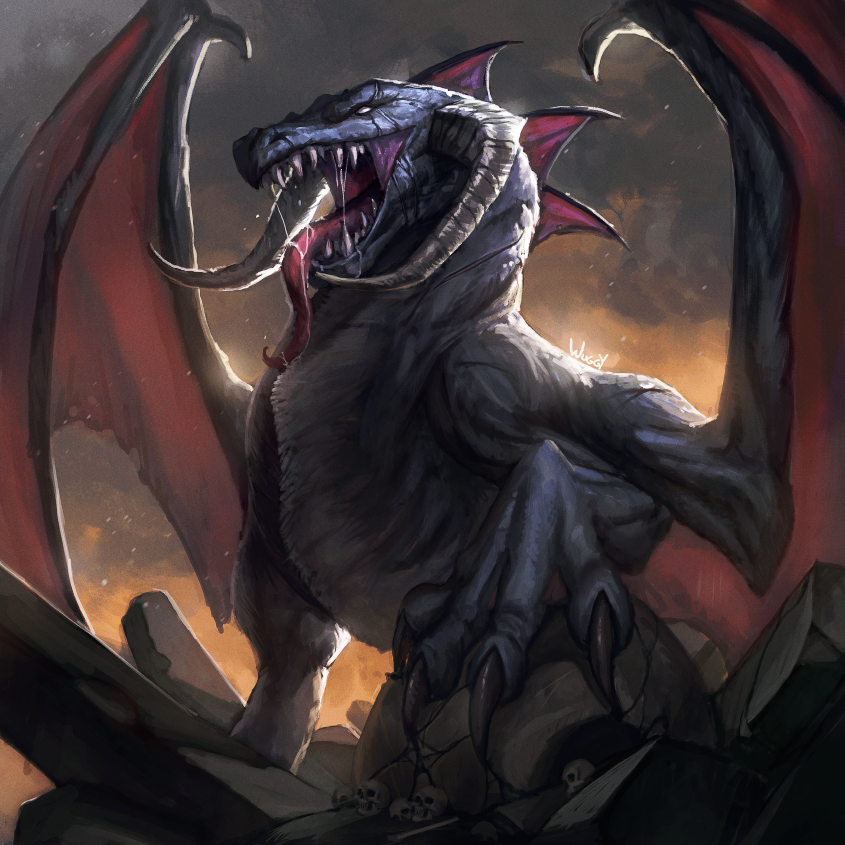 Gorm, The Mad Dragon