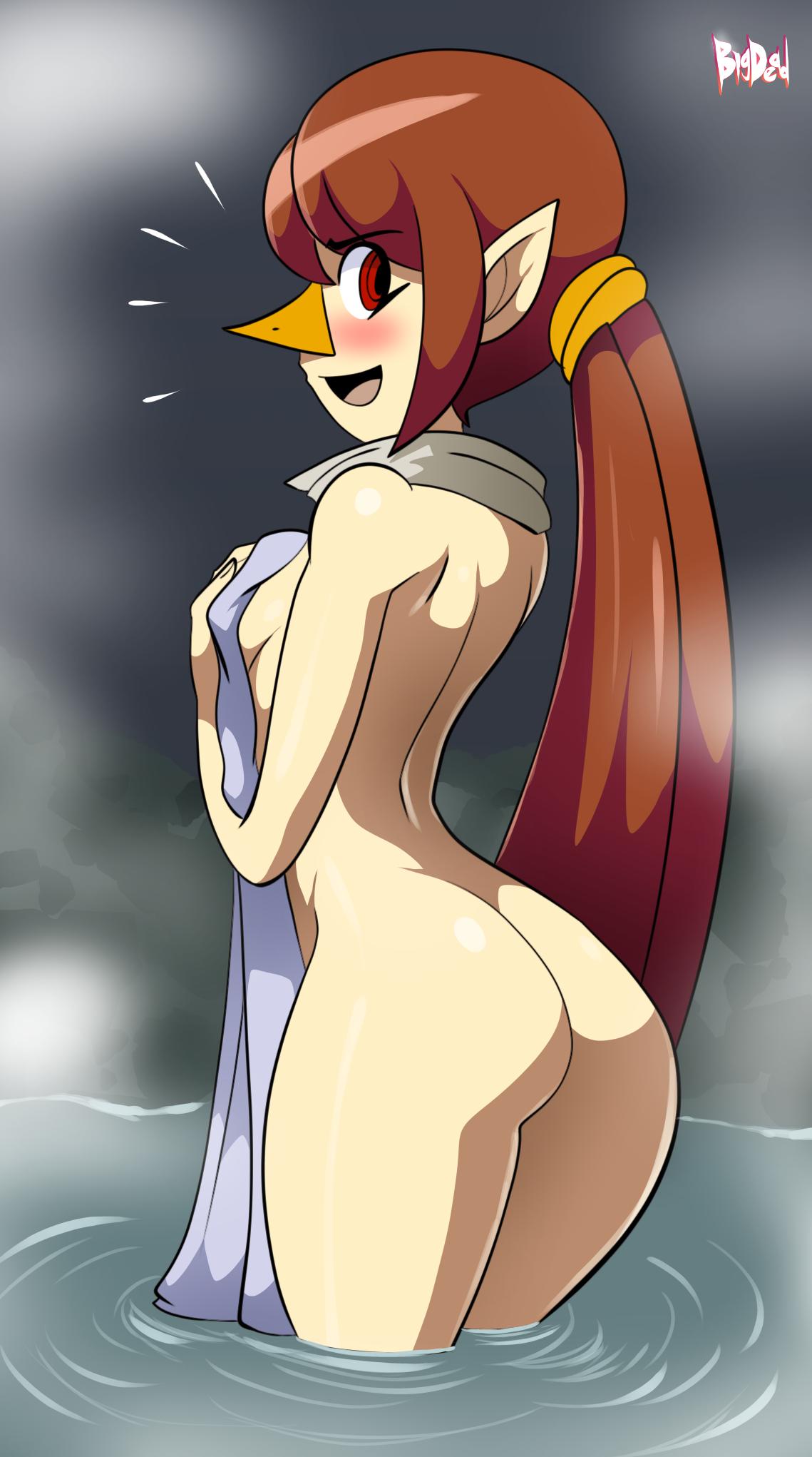 Commission: Bird Bath