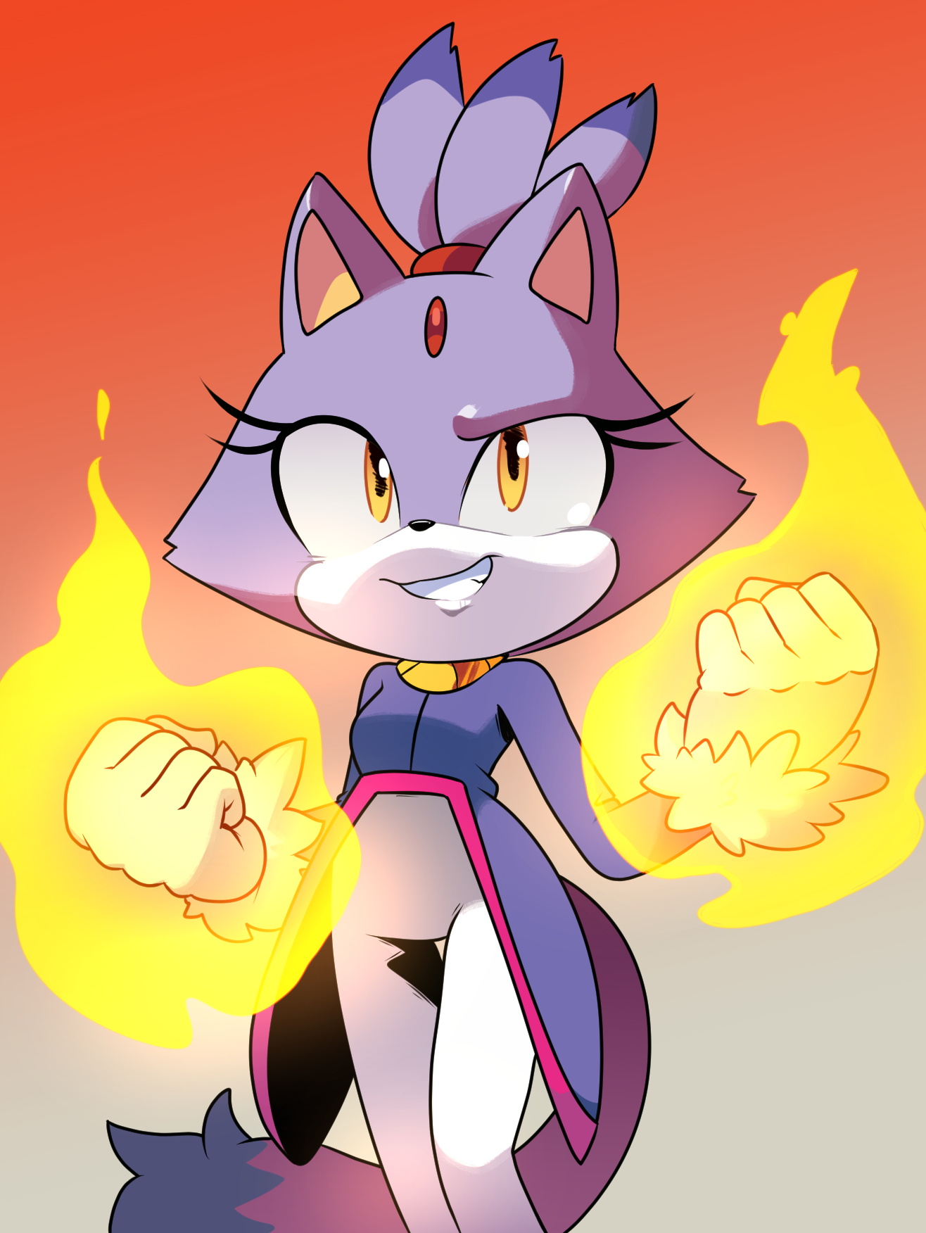 Comic Style Blaze