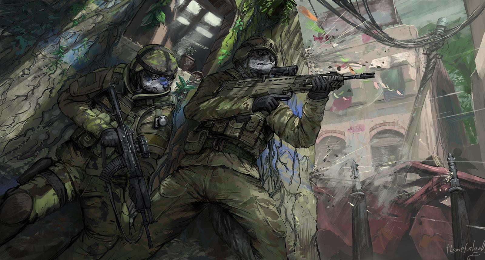 Urban warfare[commission]