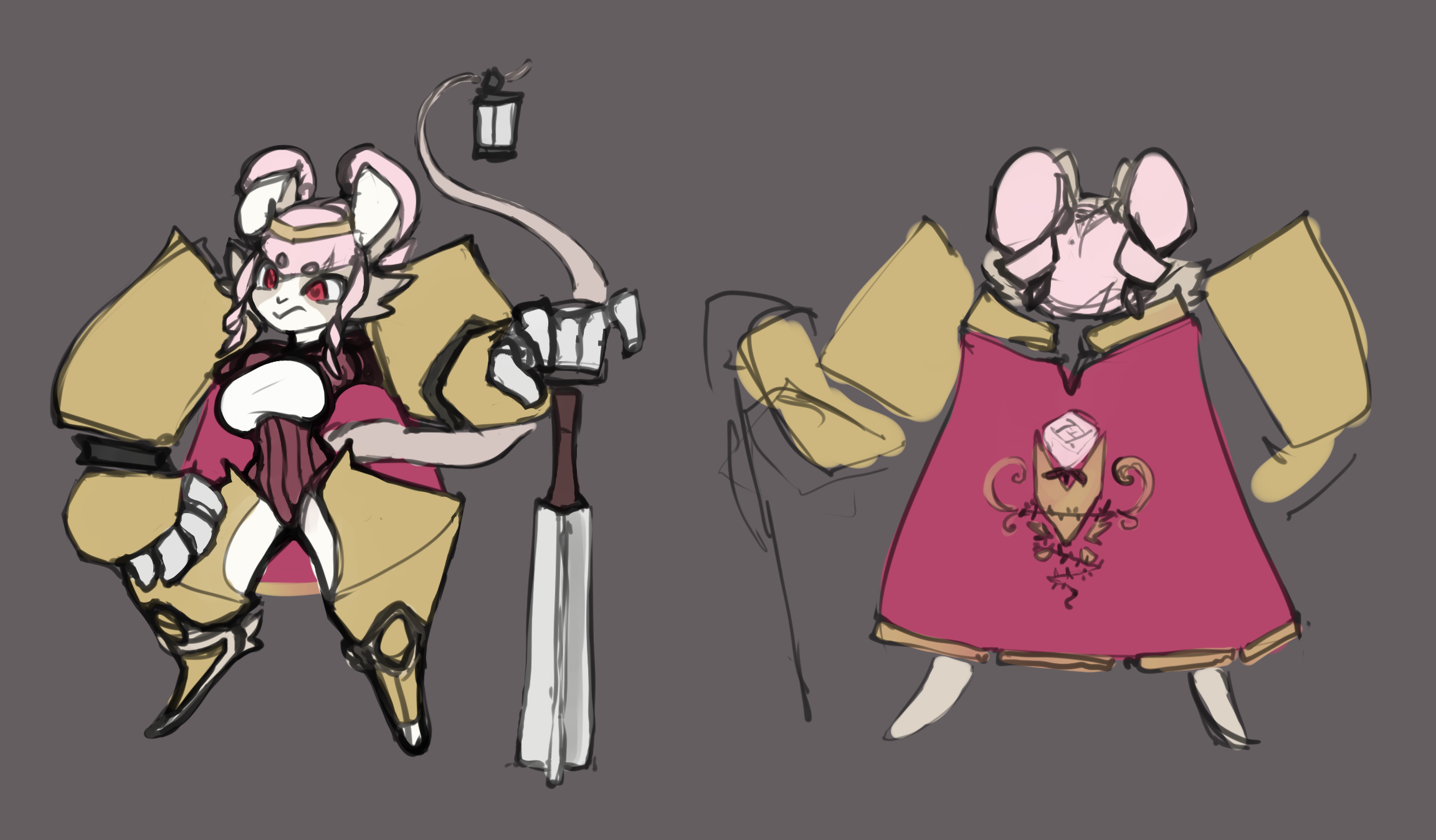 Baroness mouse