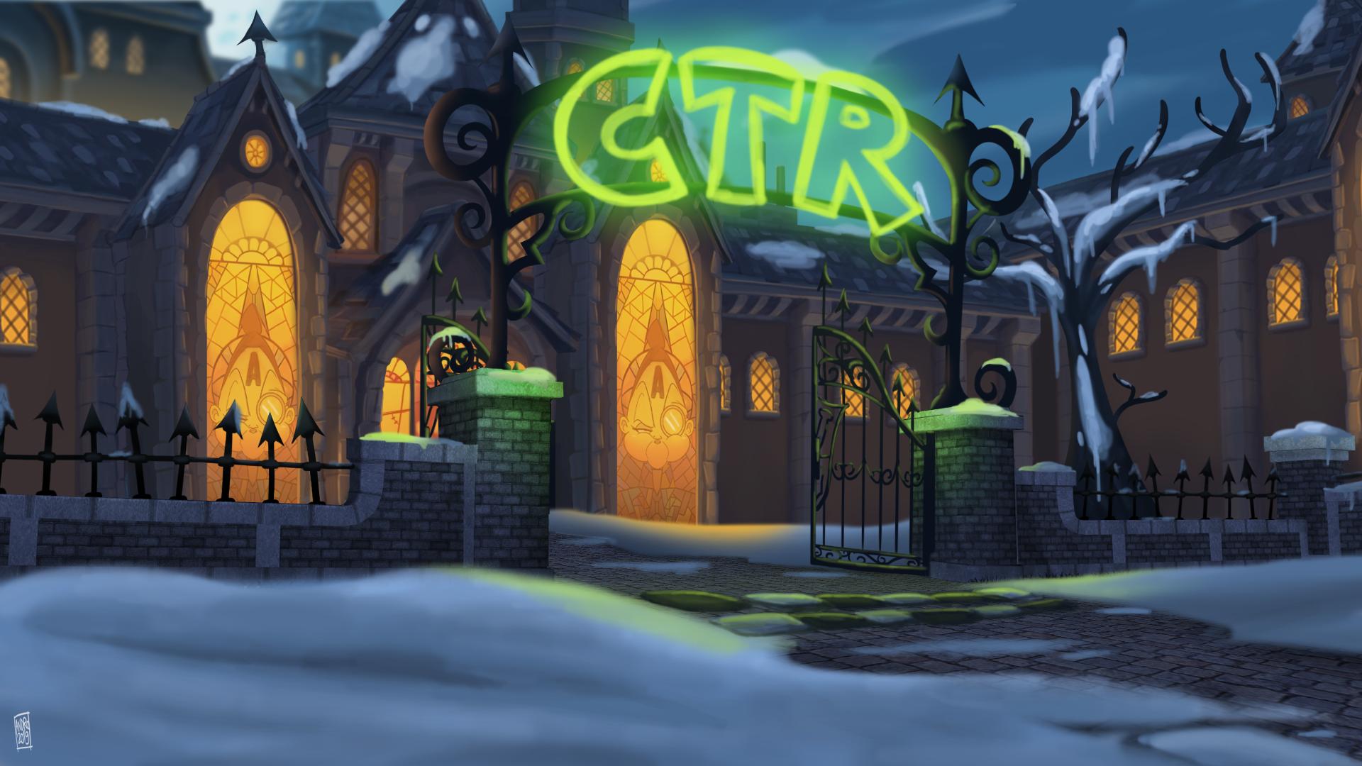 CTR - Academy of Evil