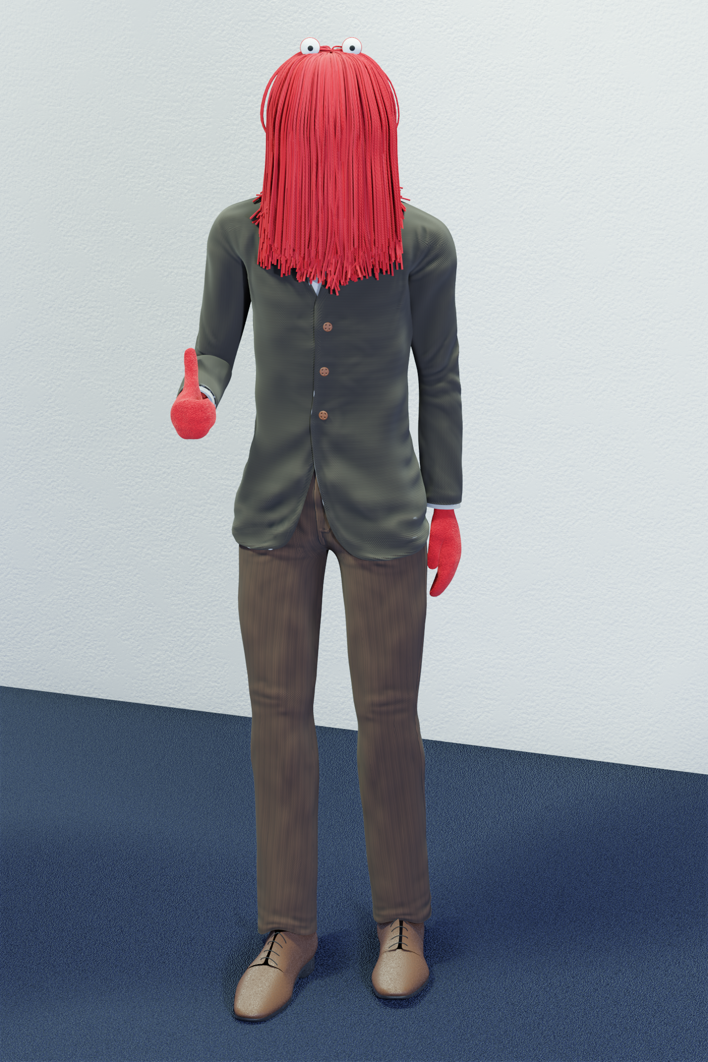 Red guy aka Harry from DHMIS
