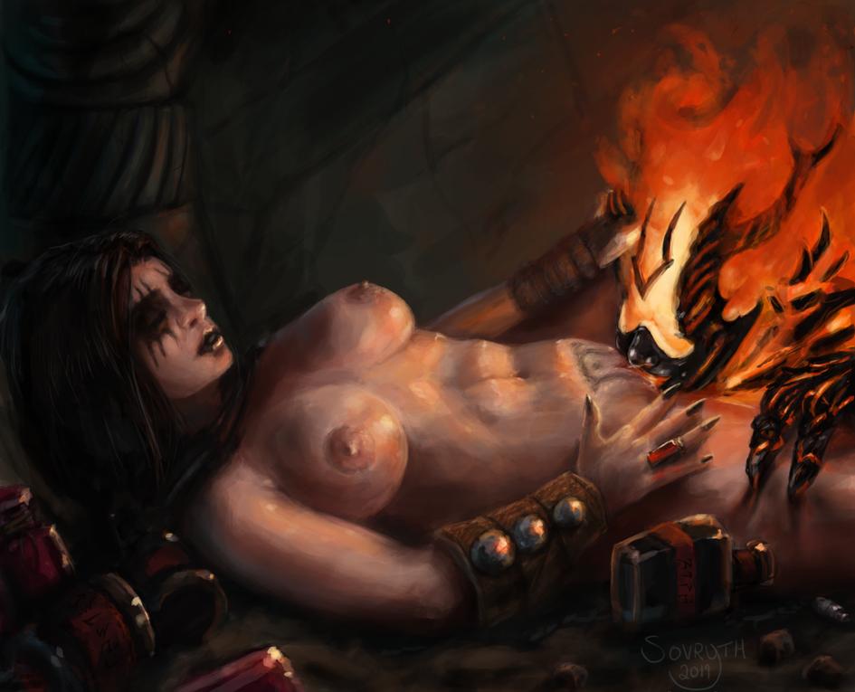 Elder Scrolls: Yvara's Flame Atronach