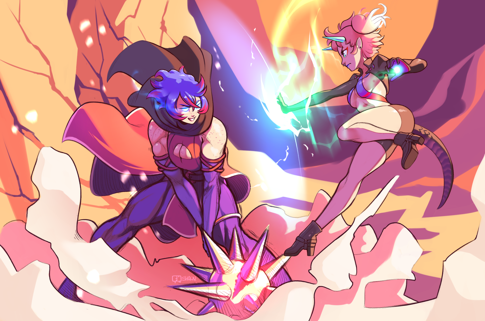Commission-Cookies VS Flan