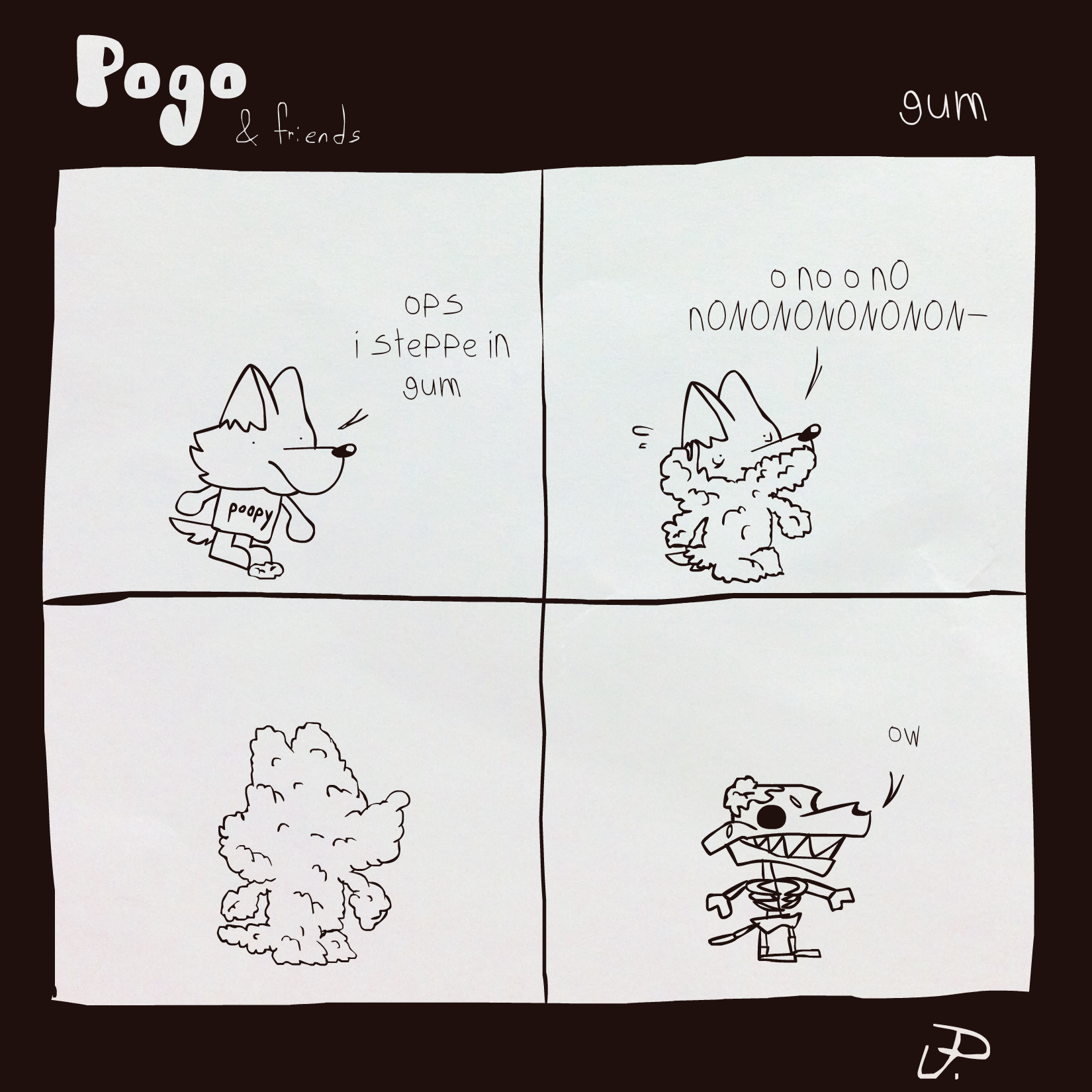 Pogo & Friends #4 - Gum