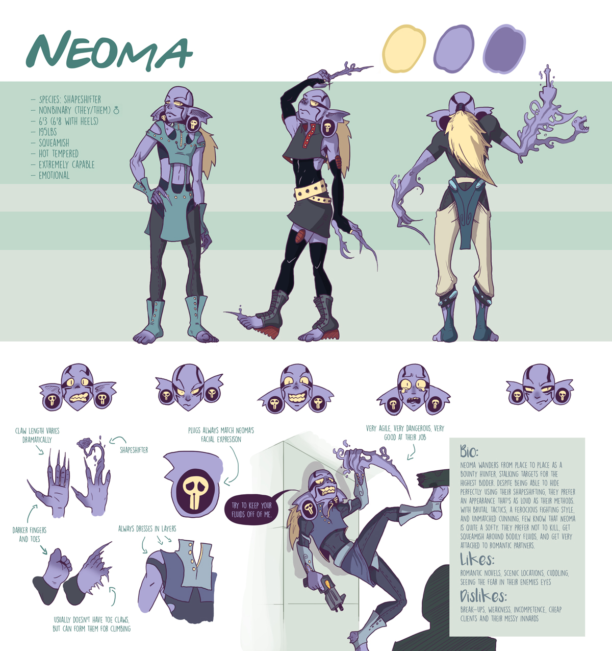 Neoma the Bounty Hunter
