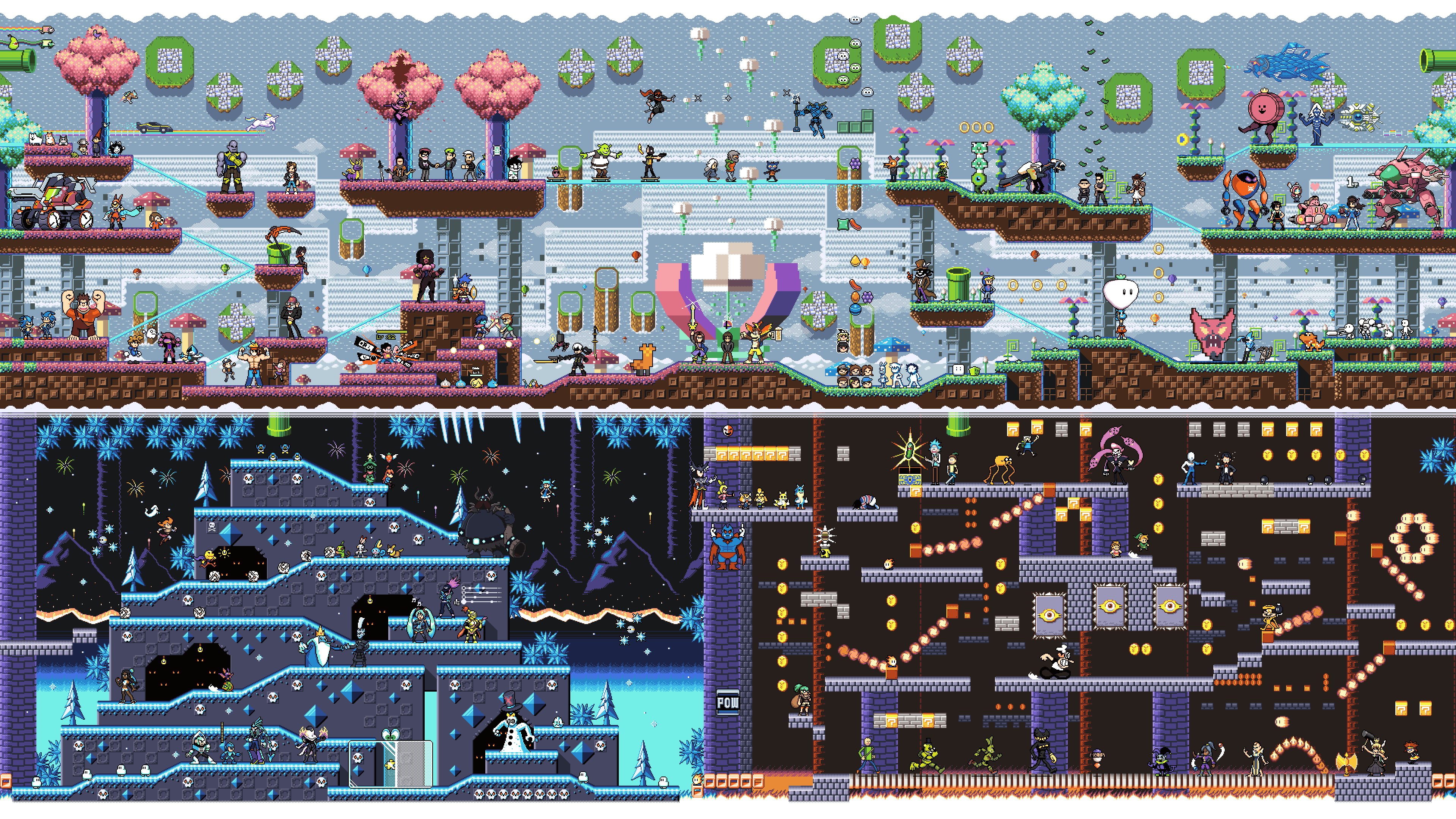 Summer Pixel and video game cultures