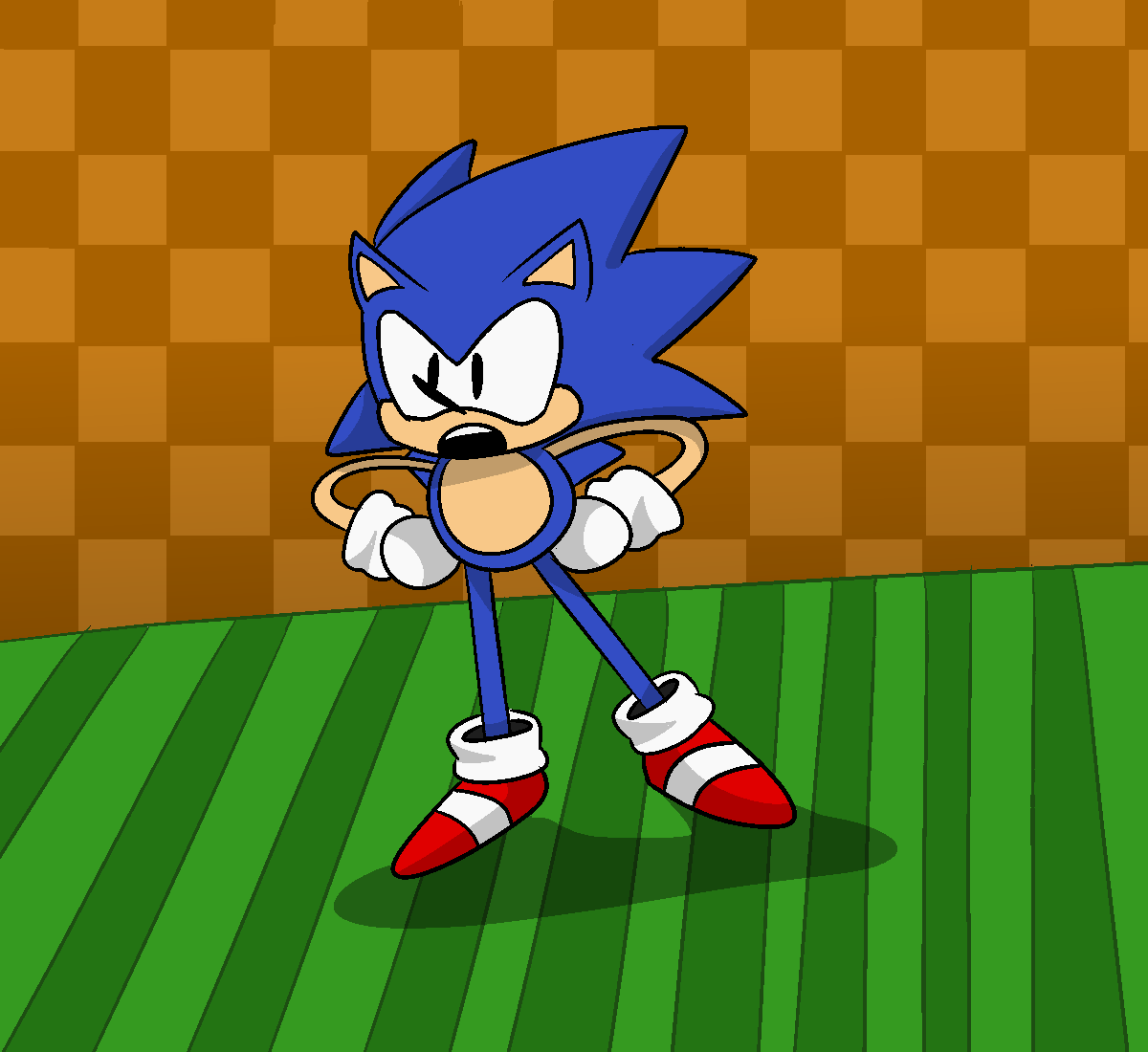 Who'da guessed, It's Sonic!
