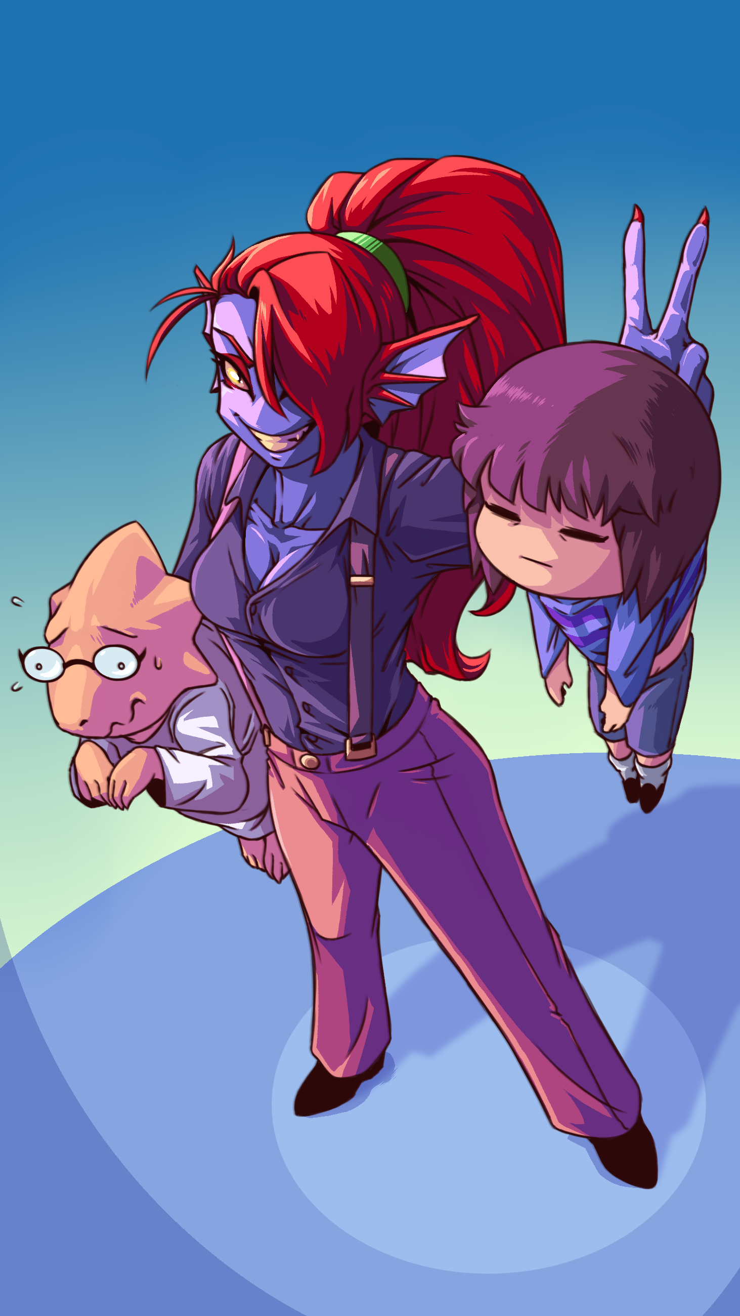 Undyne the Professional