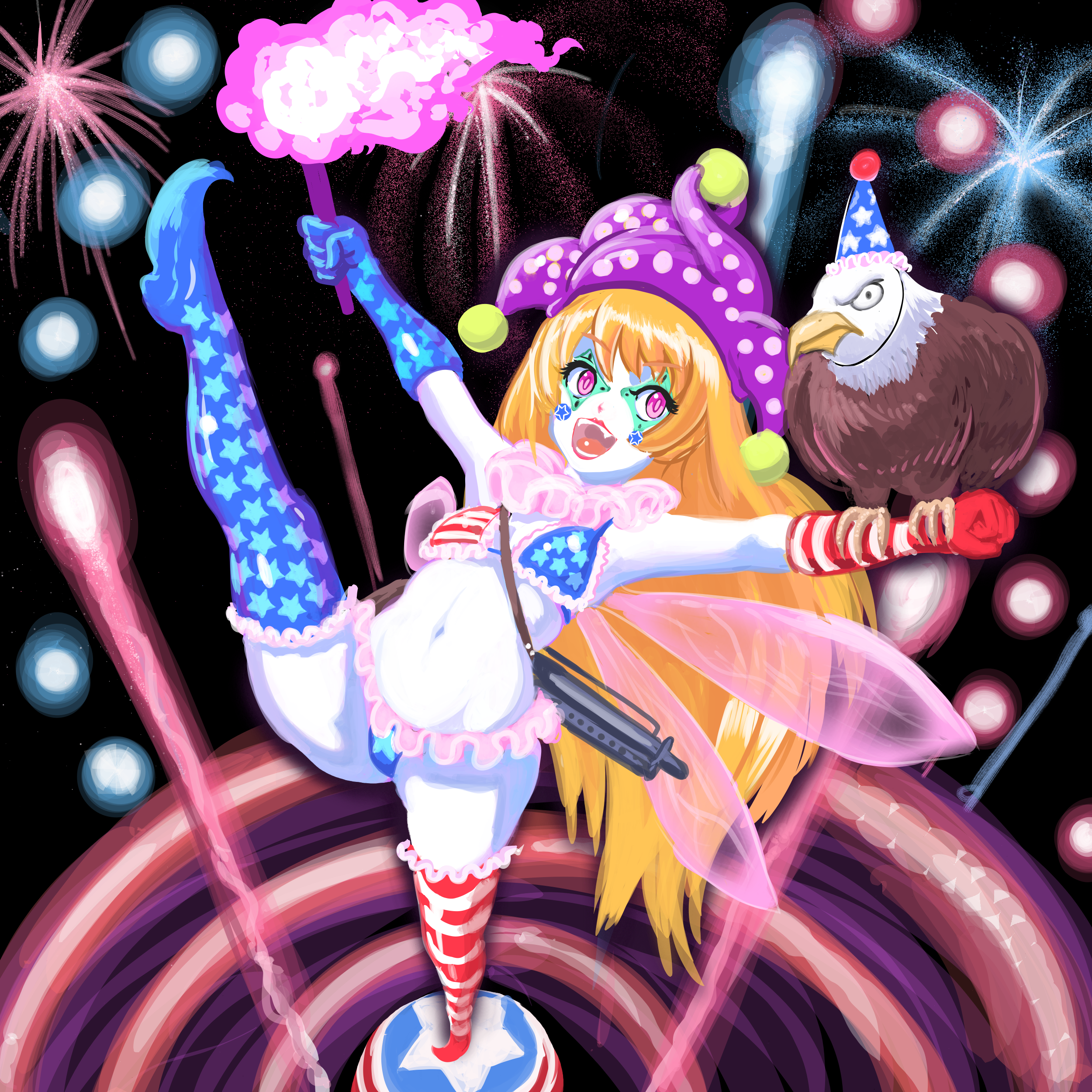 Happy 4th of July from Clownpiece
