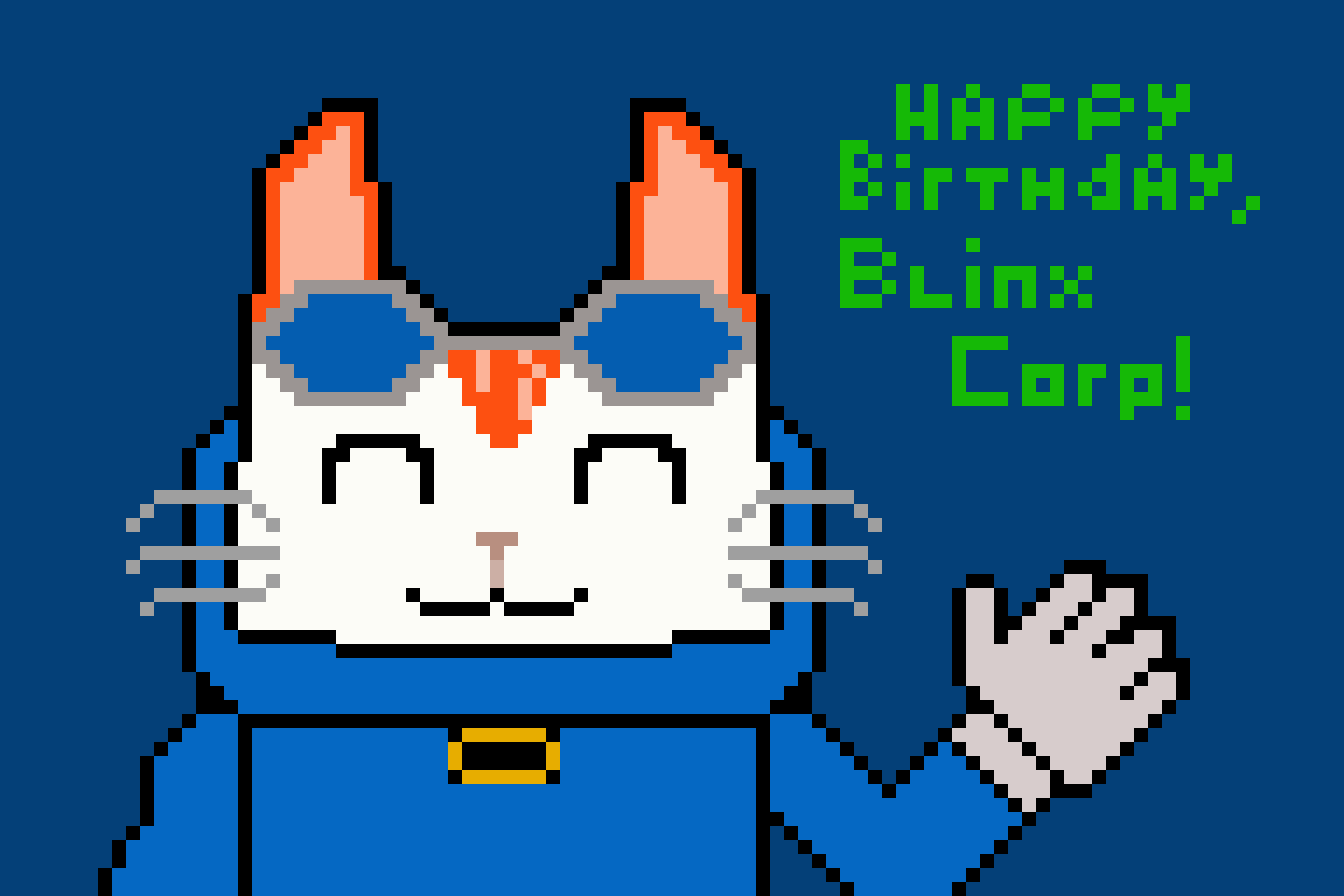 Happy Birthday, Blinx Corp!