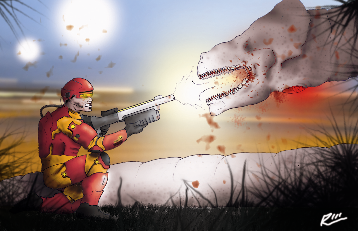 Space Worm Slaughter