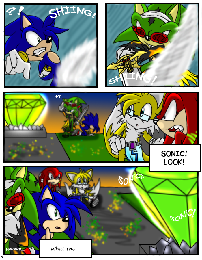 SONIC X.S. - Page 7