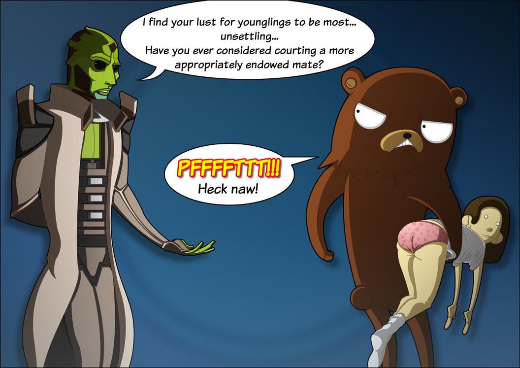 Thane and Pedobear