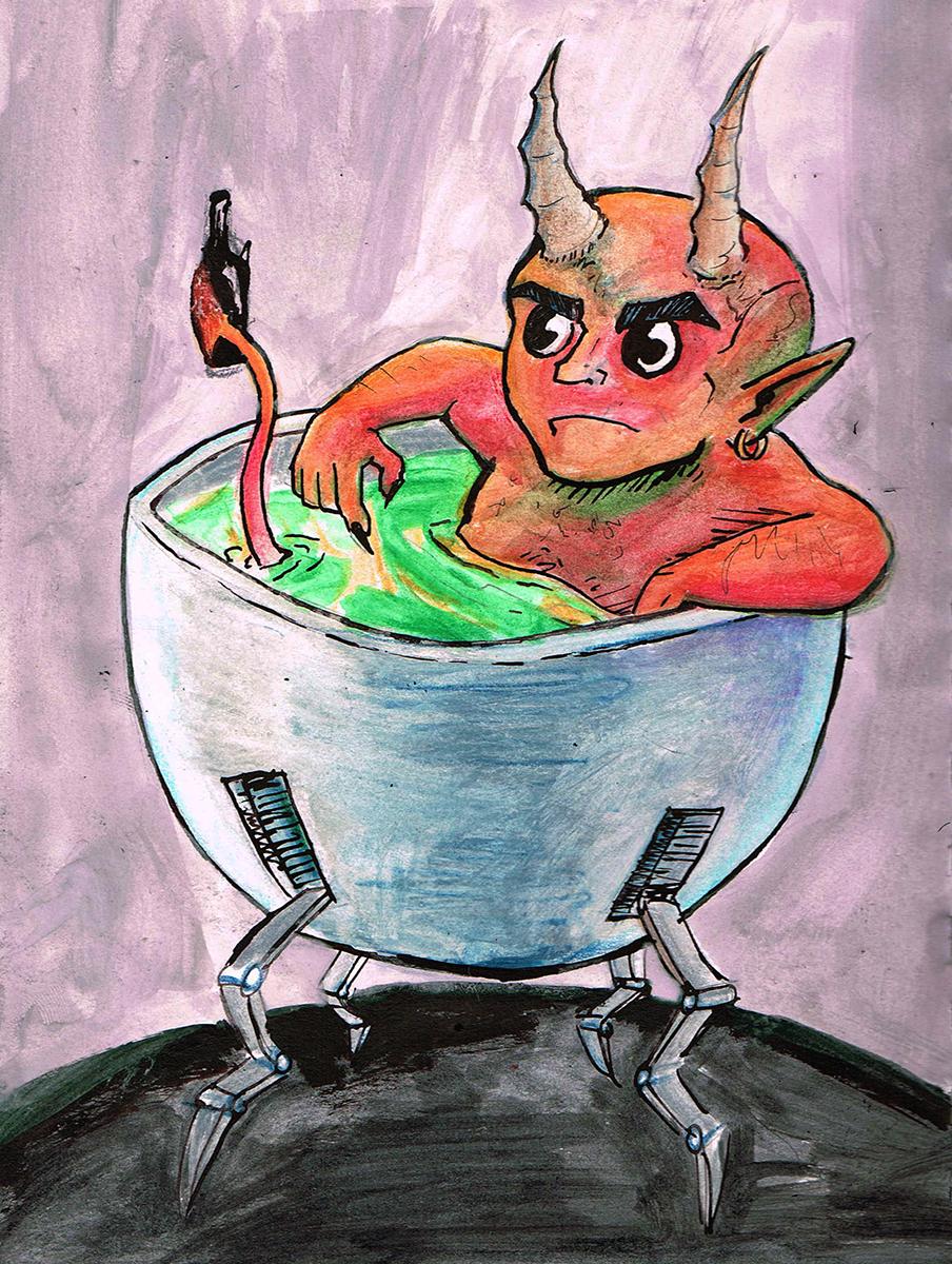 Satan's Walking Bath