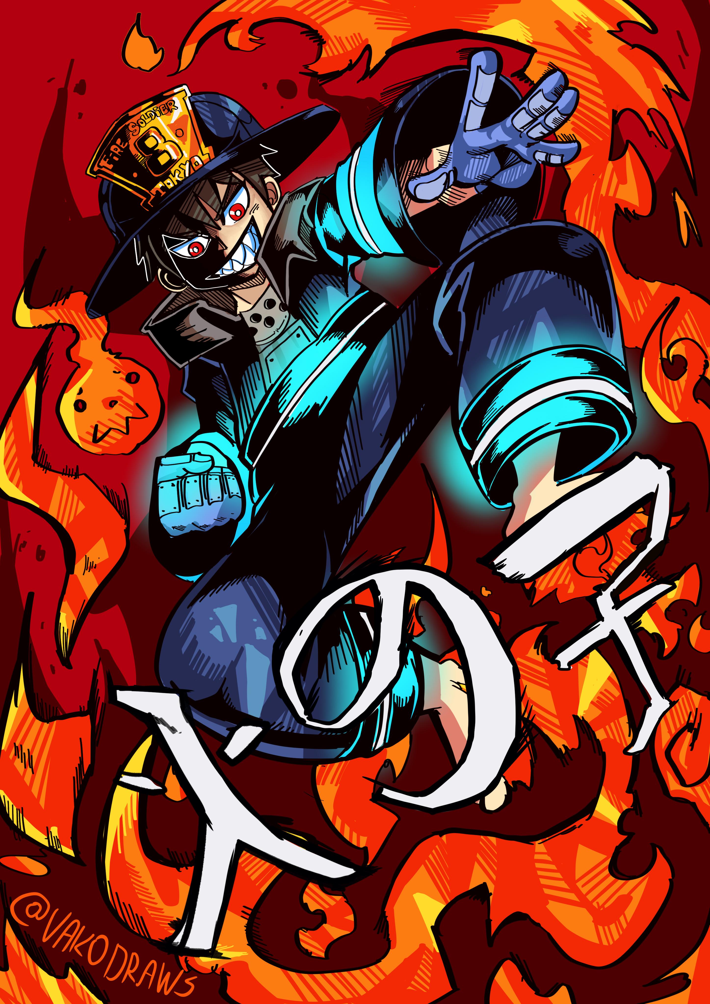 Shinra Fire Force !!