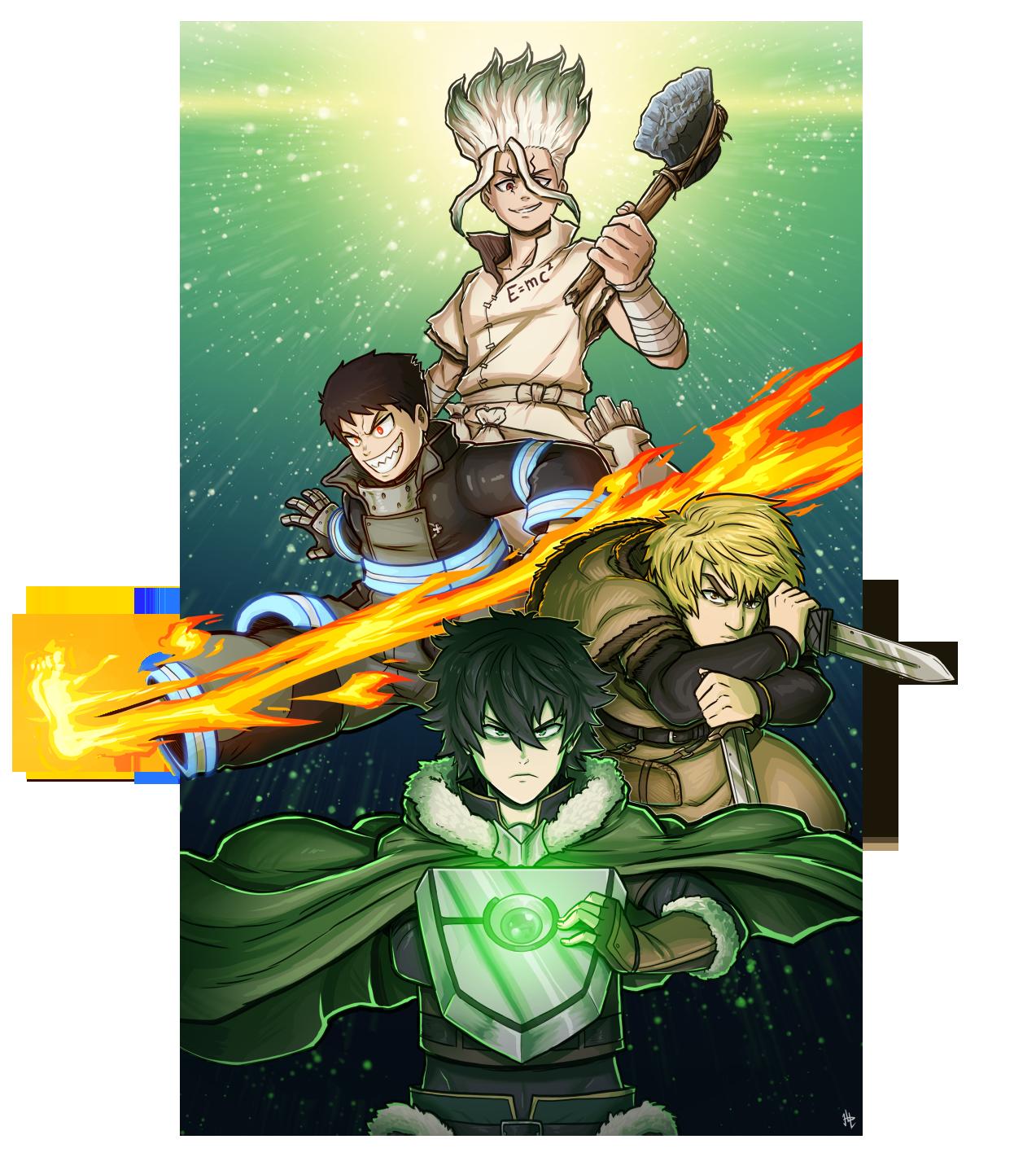 Anime Summer Season 2019 (plus Shield Hero)